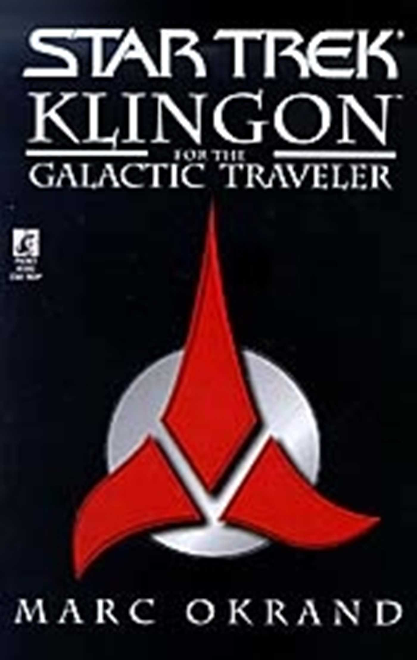 Klingon for the galactic traveler 9781451646894 hr