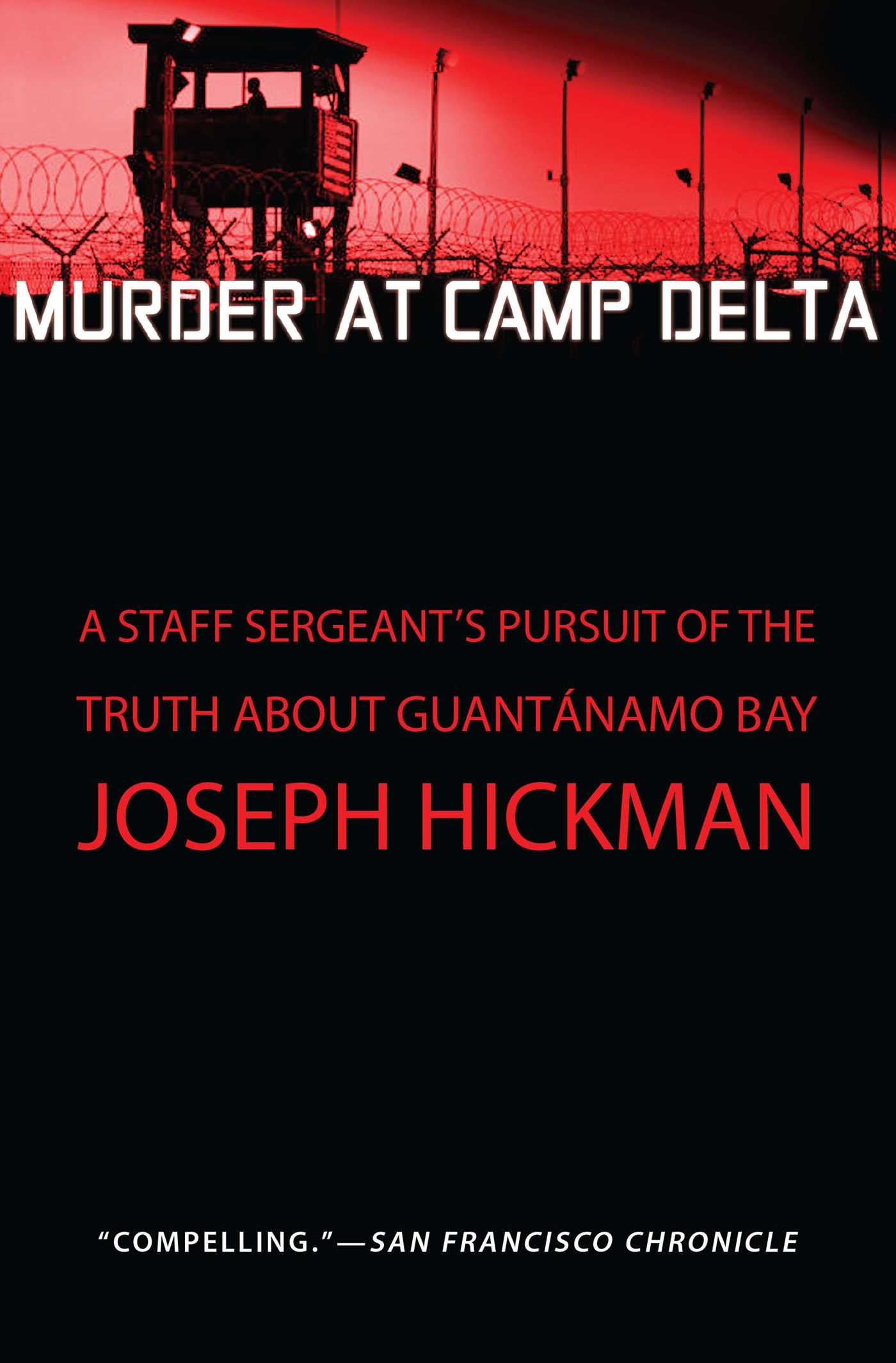 Murder at camp delta 9781451650808 hr