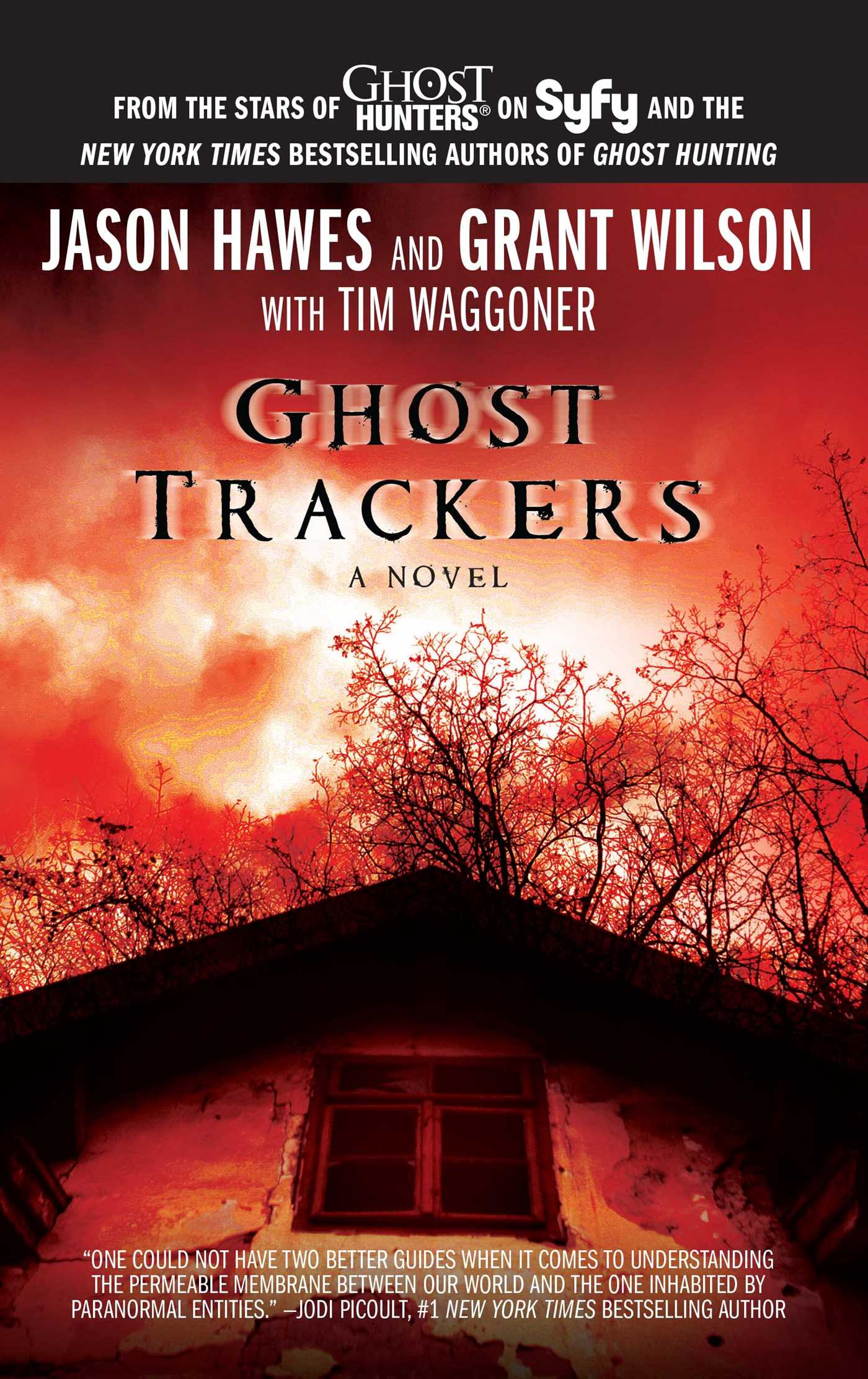 Ghost trackers 9781451651171 hr