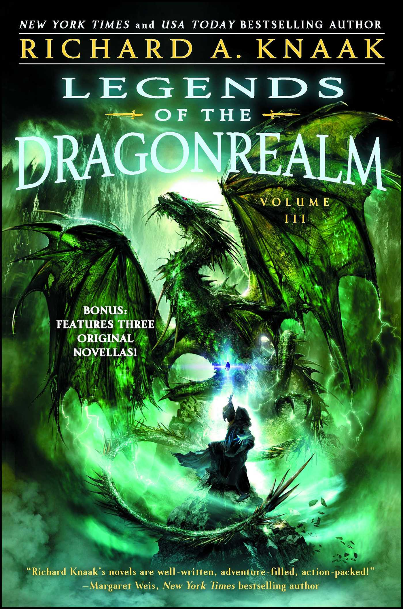 Book Cover Image (jpg): Legends Of The Dragonrealm, Vol Iii Ebook  9781451651928