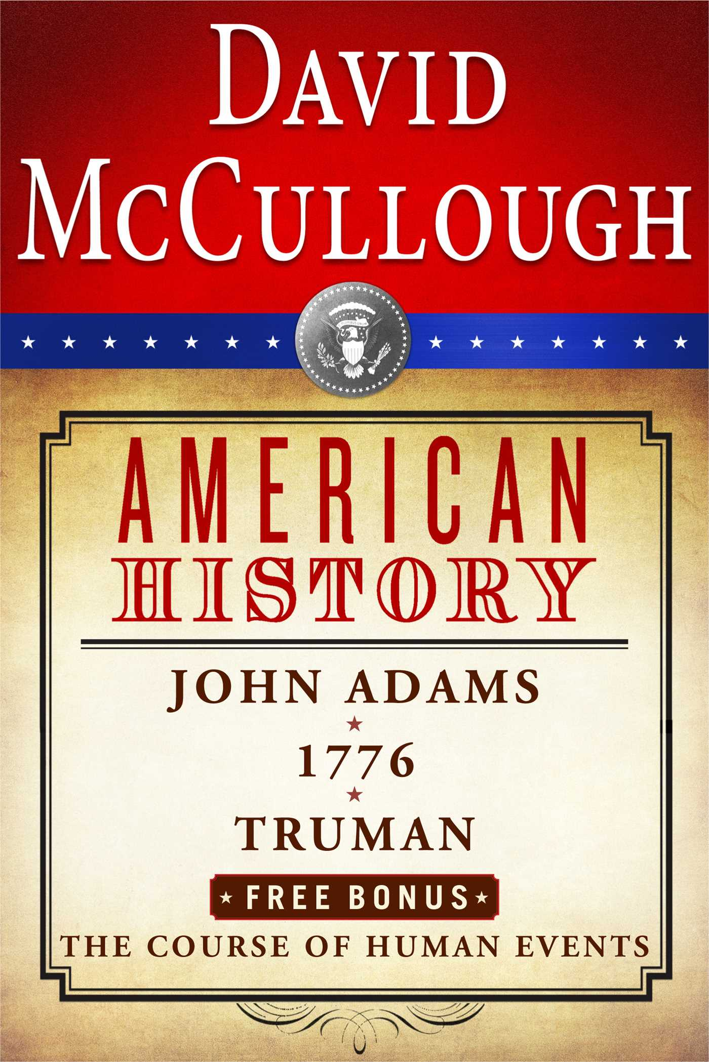Book Cover Image (jpg): David Mccullough American History Ebook Box Set