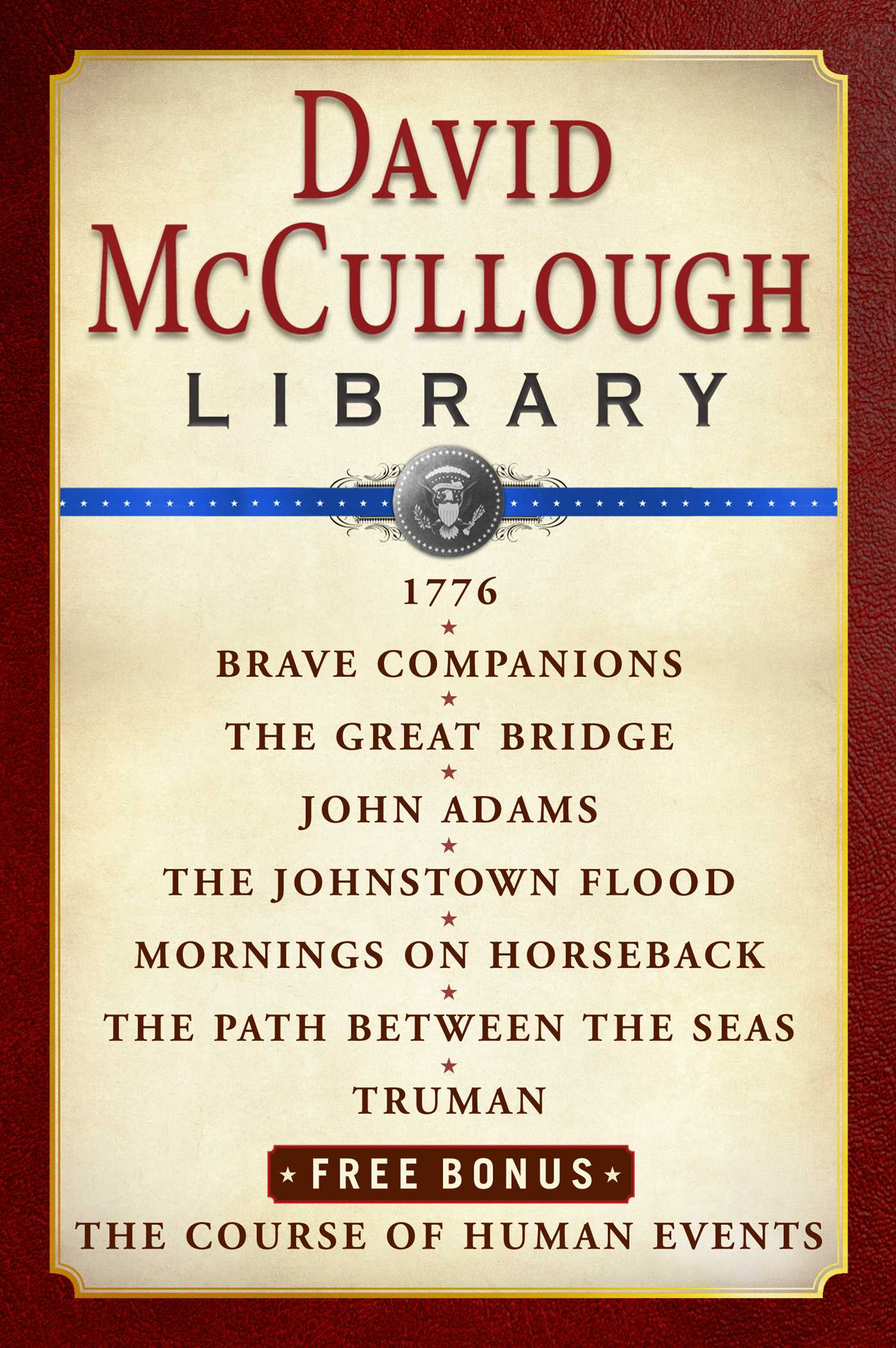 David Mccullough Library Ebook Box Set