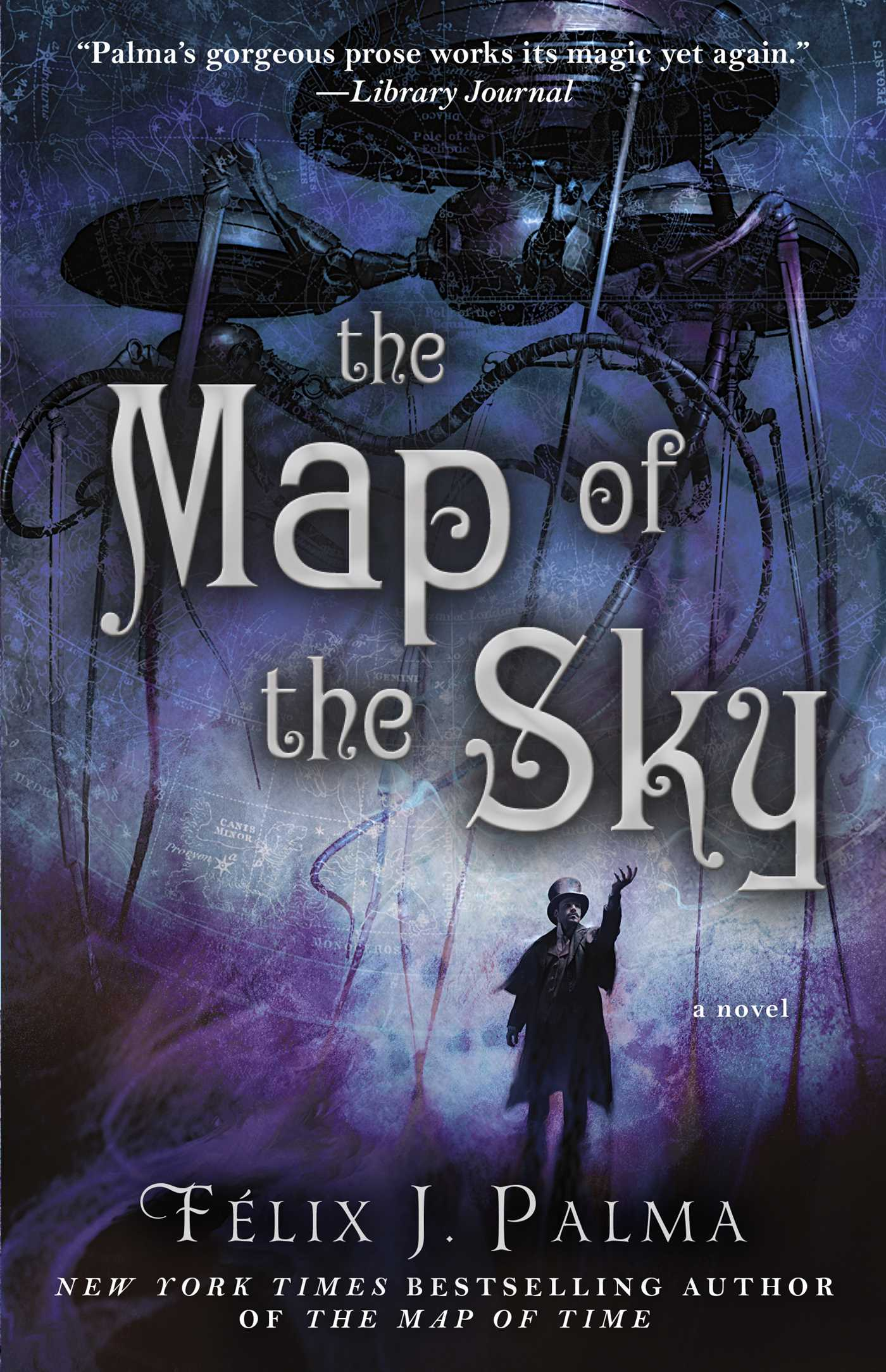 The map of the sky 9781451660333 hr