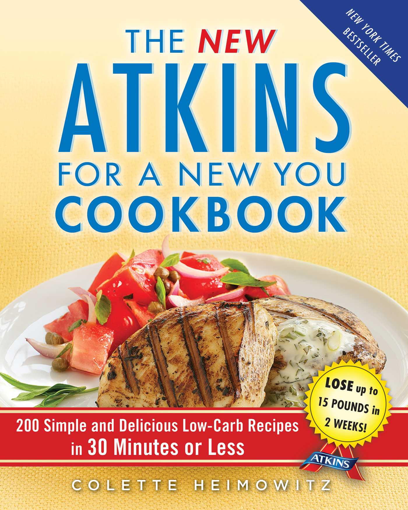 The new atkins for a new you cookbook 9781451660852 hr