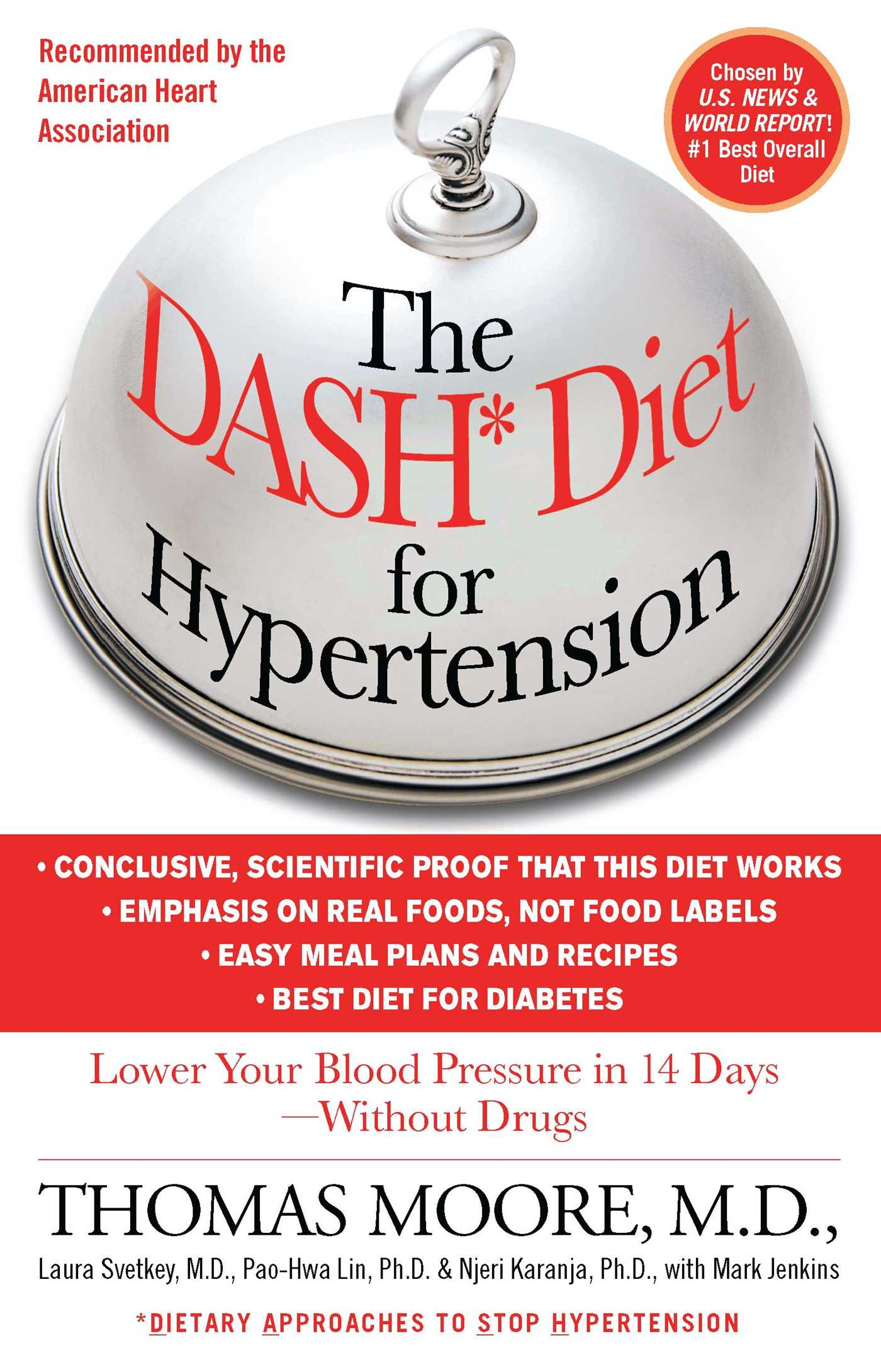 The dash diet for hypertension 9781451665581 hr