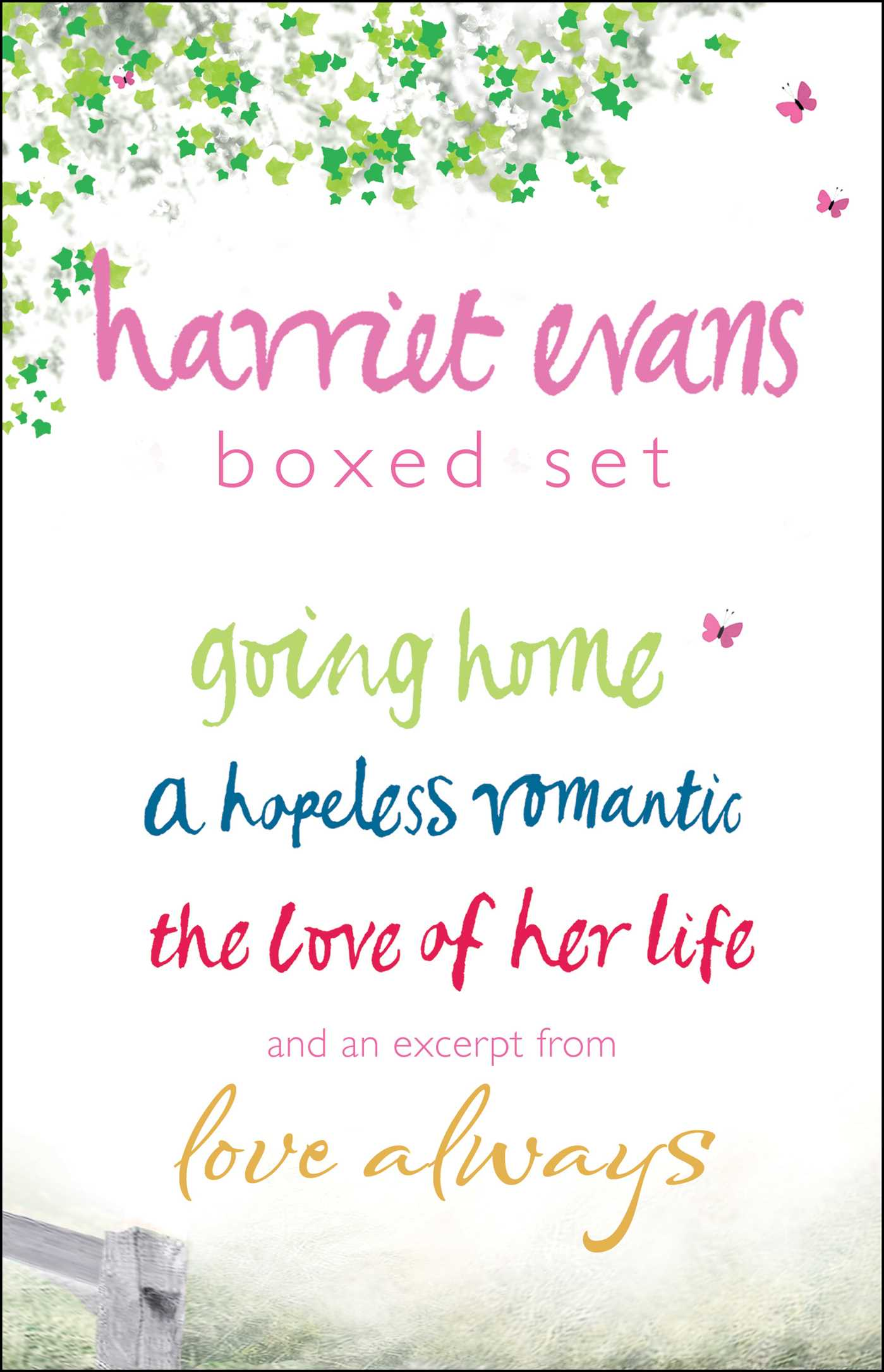Harriet evans boxed set 9781451665727 hr
