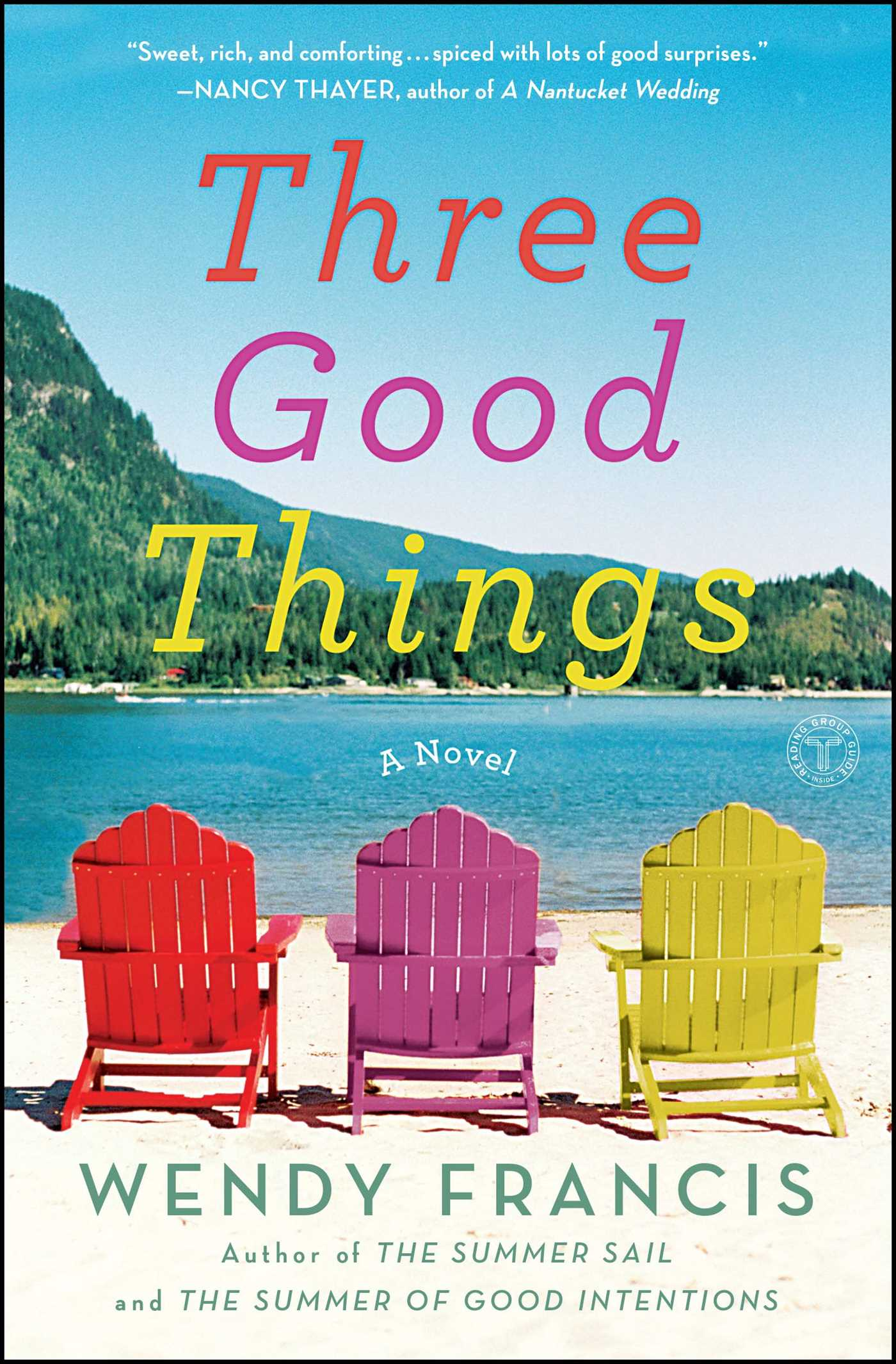 Three good things 9781451666342 hr