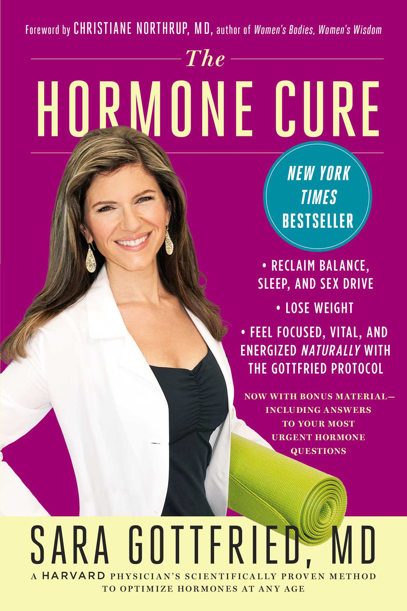 The hormone cure 9781451666953 hr