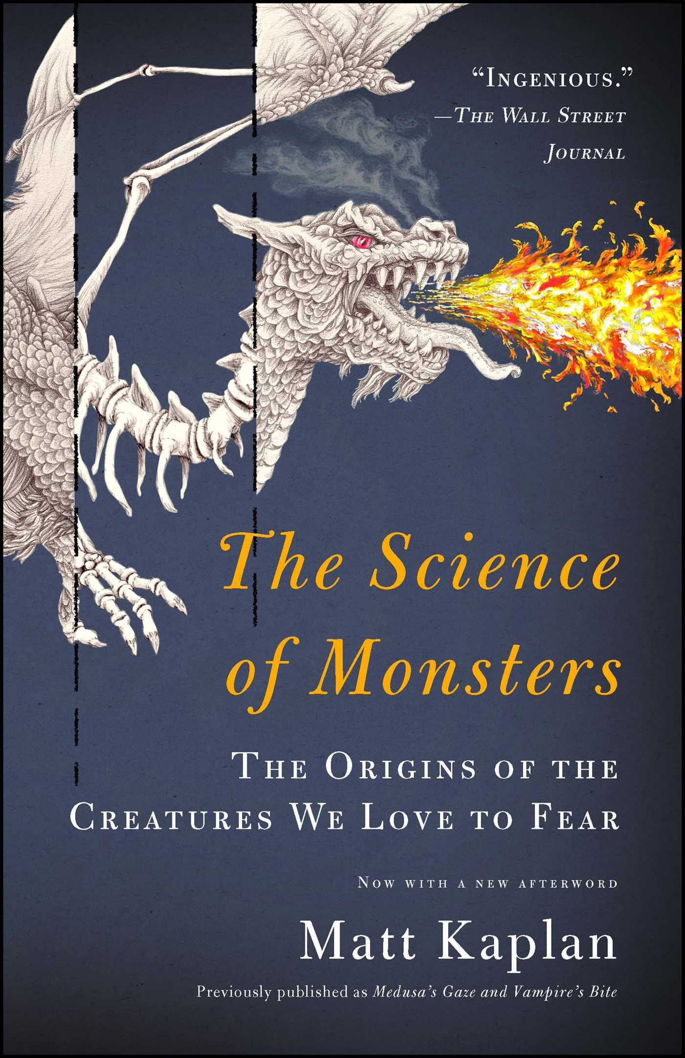 The science of monsters 9781451667998 hr