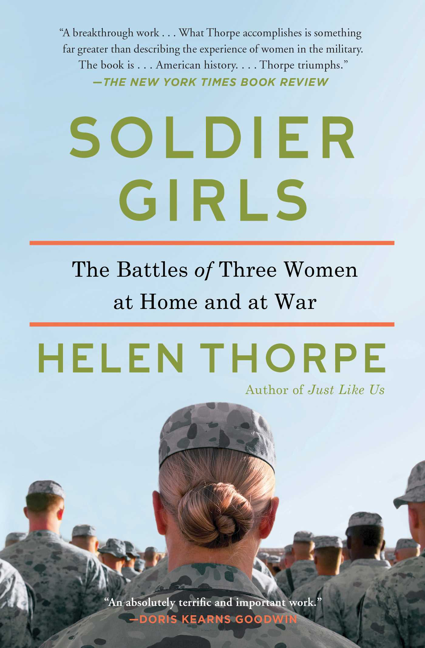 Soldier Girls  Book By Helen Thorpe  Official Publisher Page  Simon &  Schuster