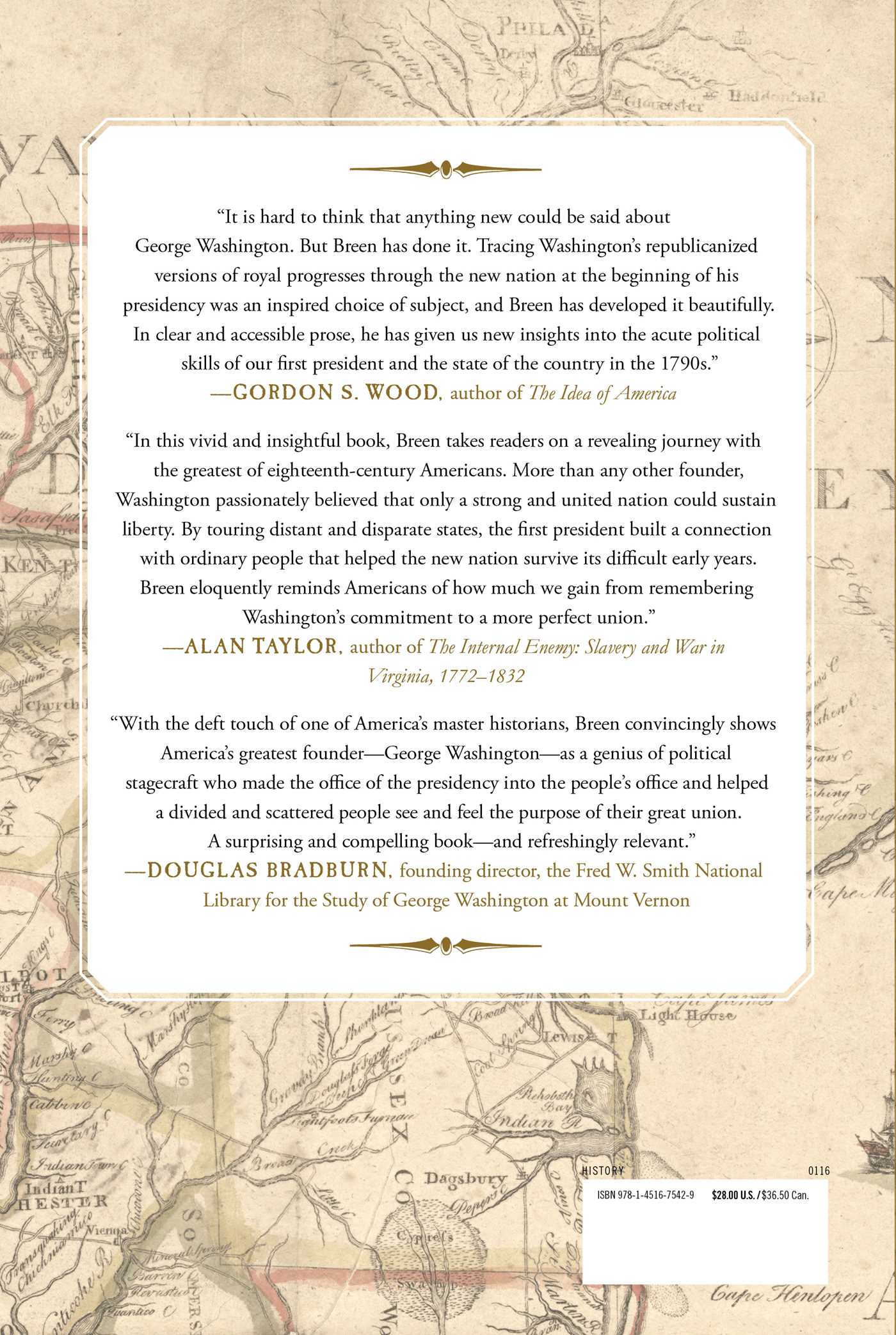 the journey of george washington to presidency George washington's journey: the president forges a new nation  journal of the american revolution is the leading source of knowledge about the american .