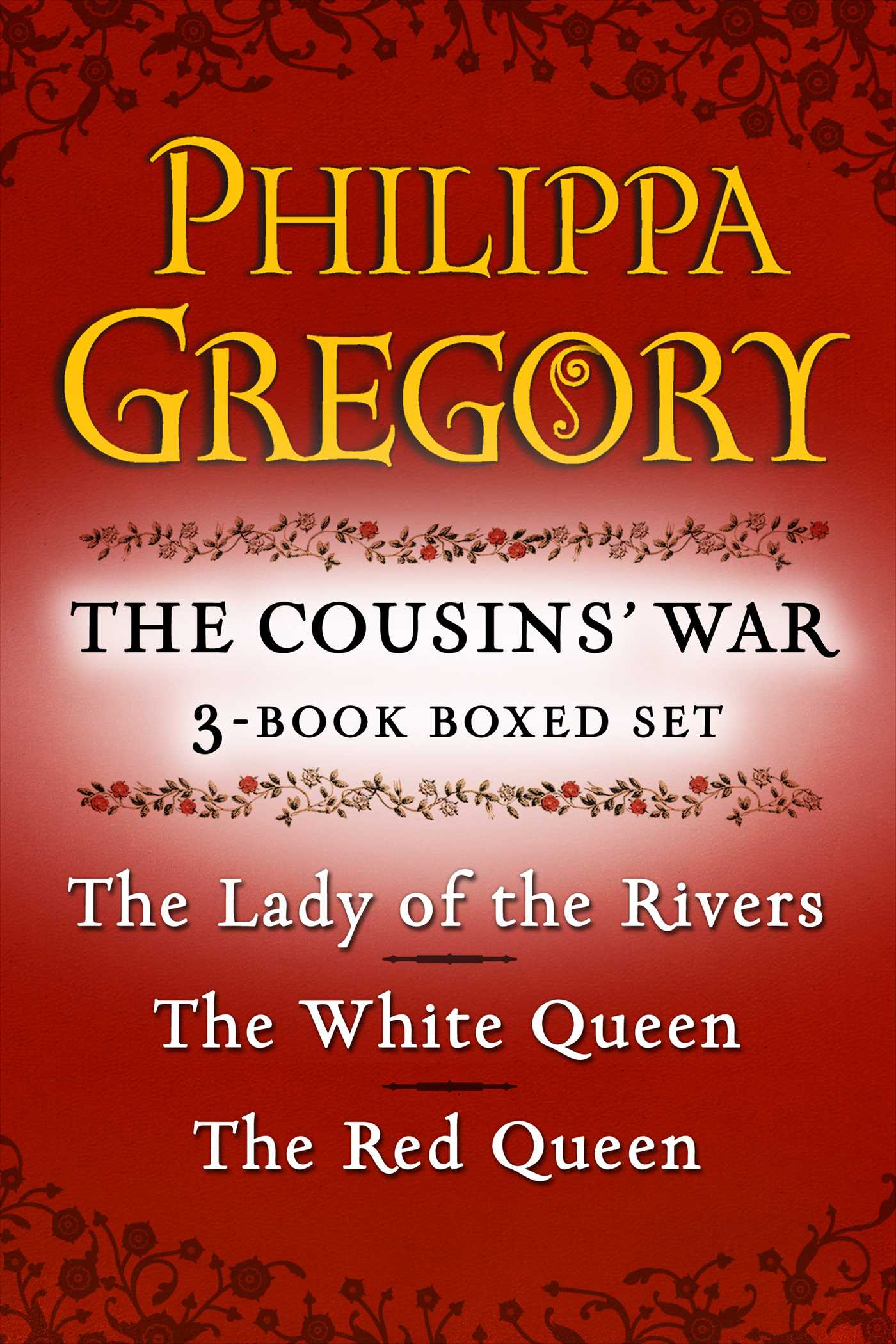 Philippa gregorys the cousins war 3 book boxed set 9781451682953 hr