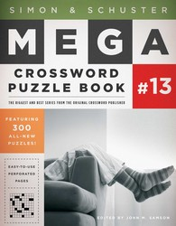 Simon & Schuster Mega Crossword Puzzle Book #13