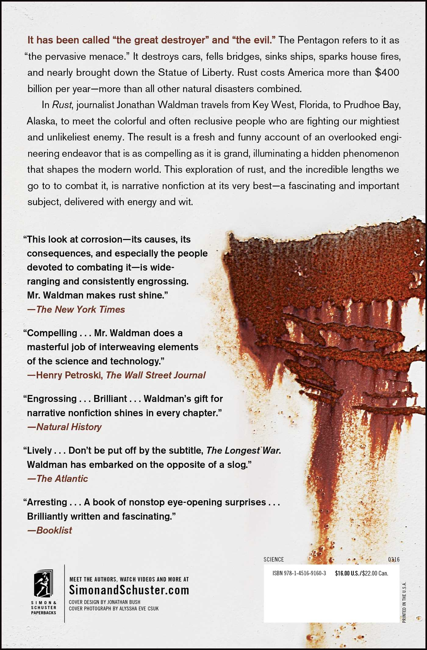 Rust  Book By Jonathan Waldman  Official Publisher Page  Simon & Schuster