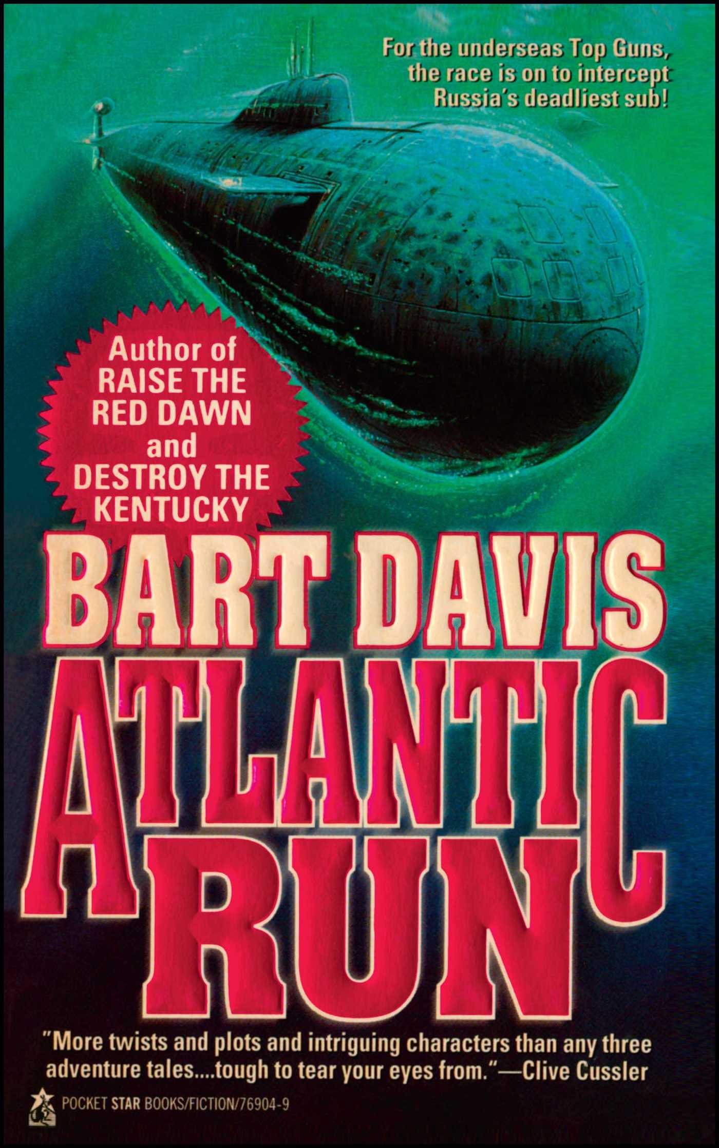 Atlantic Run Book By Bart Davis Official Publisher border=