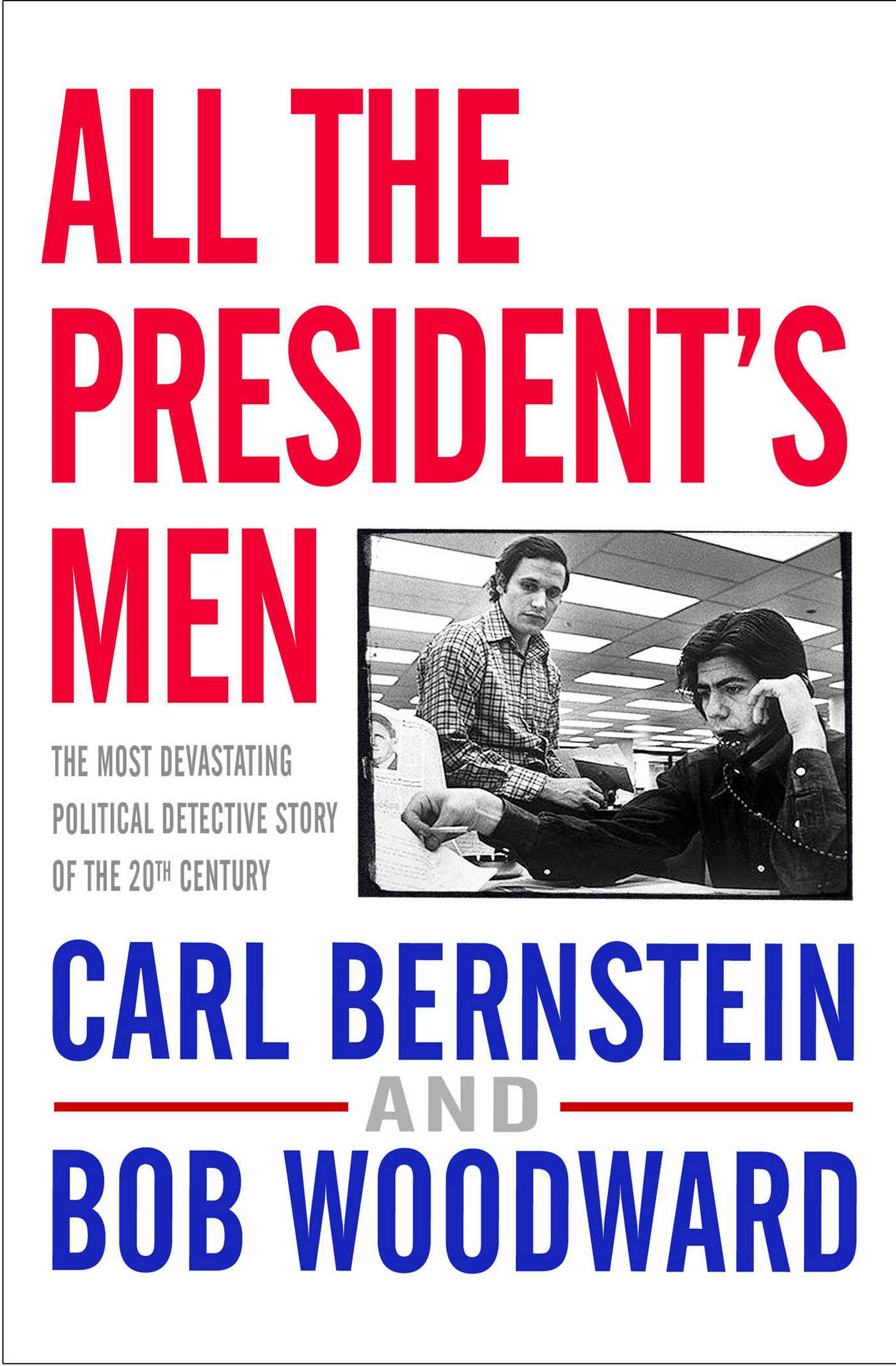 an analysis of all the presidents men The director alan j pakula had helmed four films by the time the offer to direct all  the president's men arrived on his desk two of them, klute.
