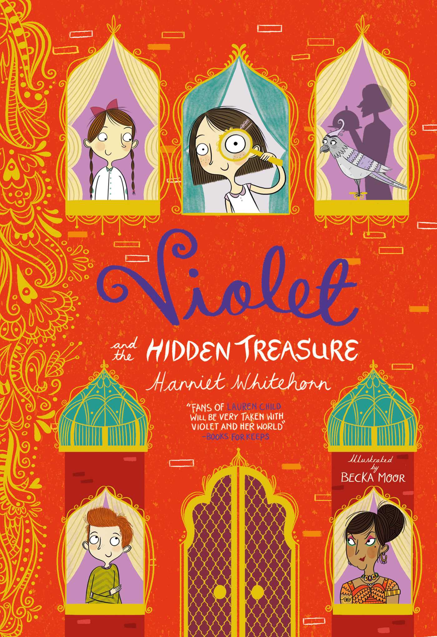 Violet and the hidden treasure 9781471118982 hr