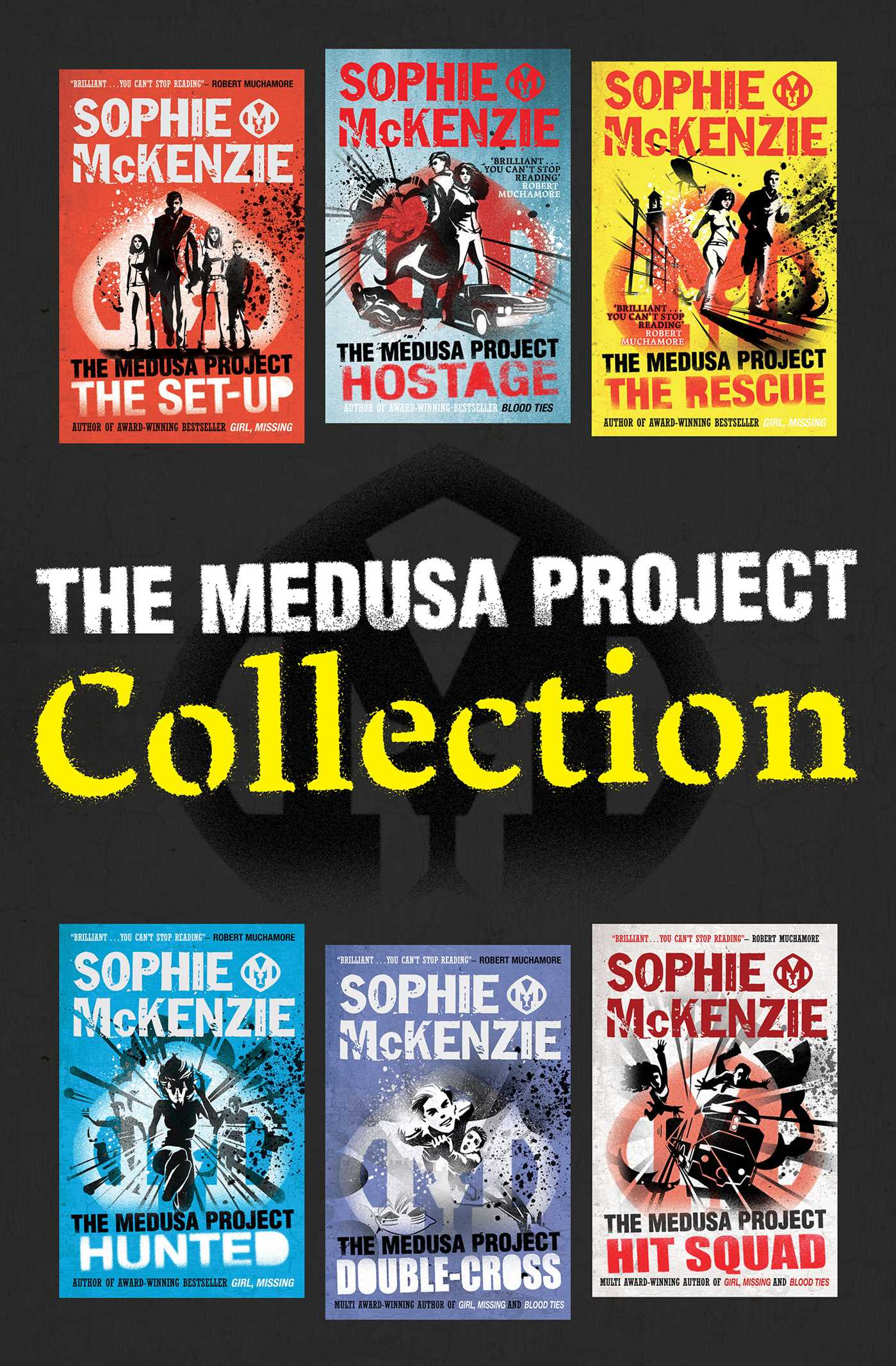 The medusa project collection ebook by sophie mckenzie official the medusa project collection 9781471121630 hr fandeluxe Image collections