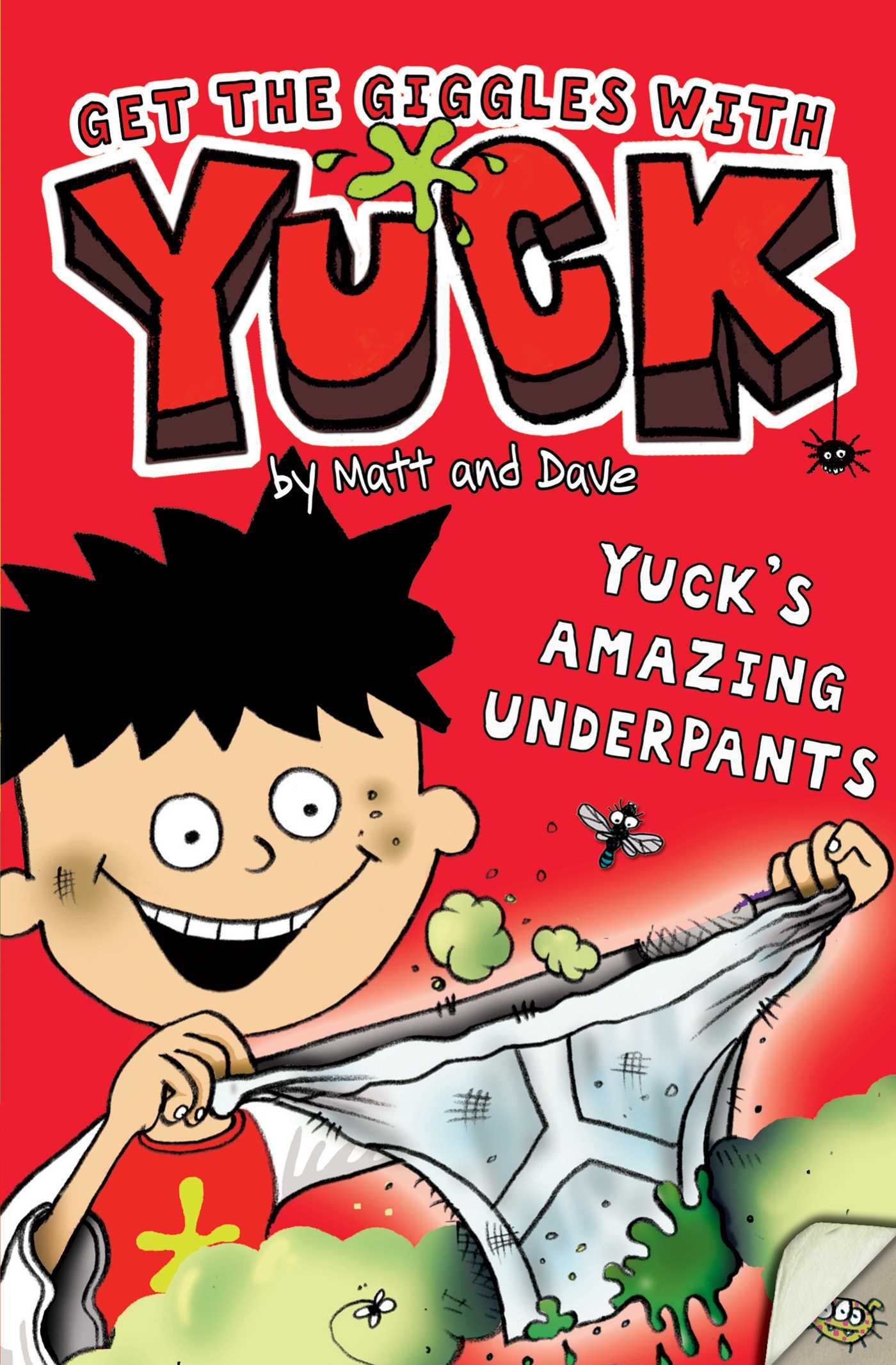 Matt and dave official publisher page simon schuster book cover image jpg yucks amazing underpants fandeluxe PDF
