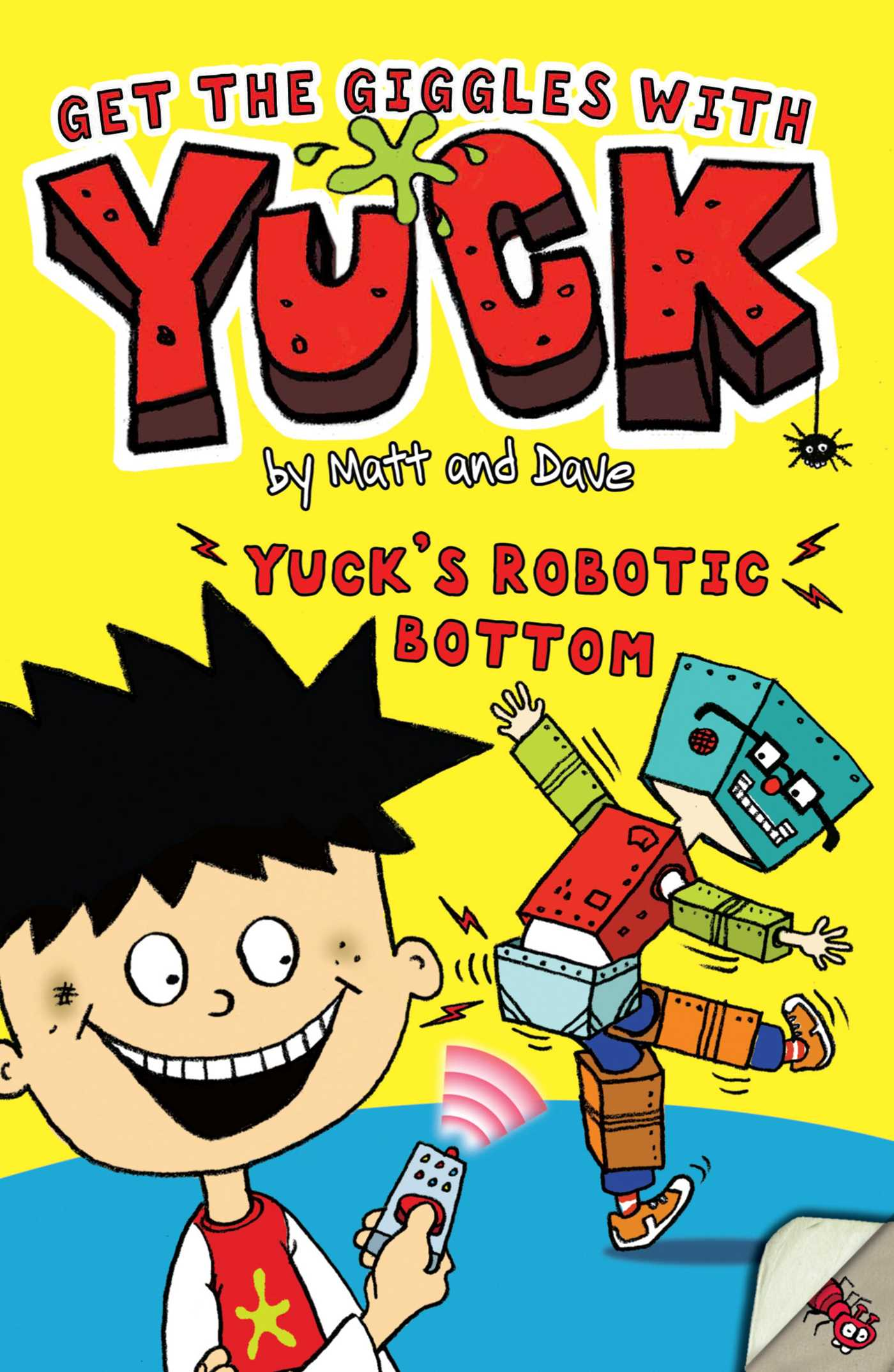 Matt and dave official publisher page simon schuster book cover image jpg yucks robotic bottom fandeluxe PDF