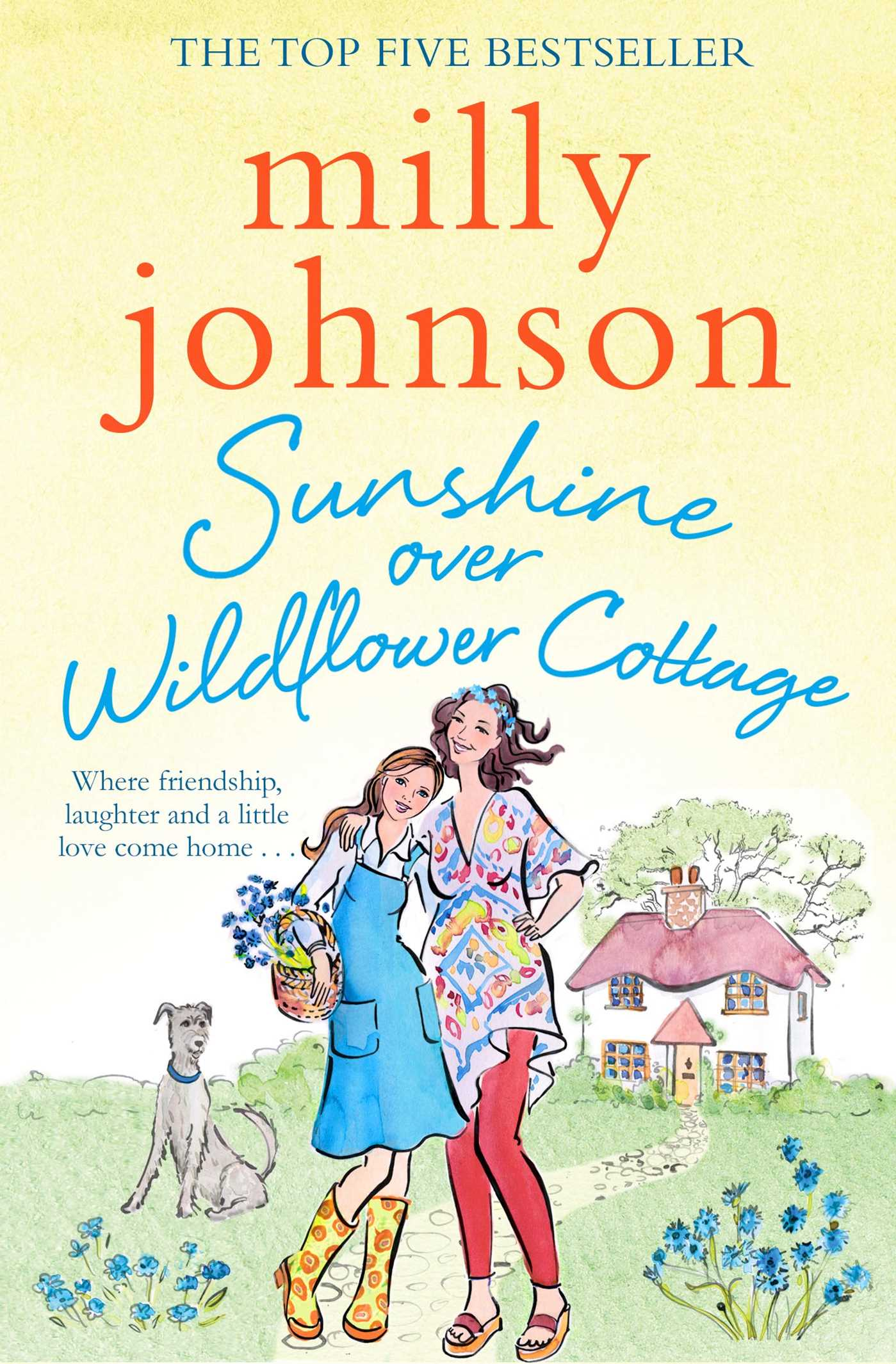 Sunshine over wildflower cottage 9781471140488 hr