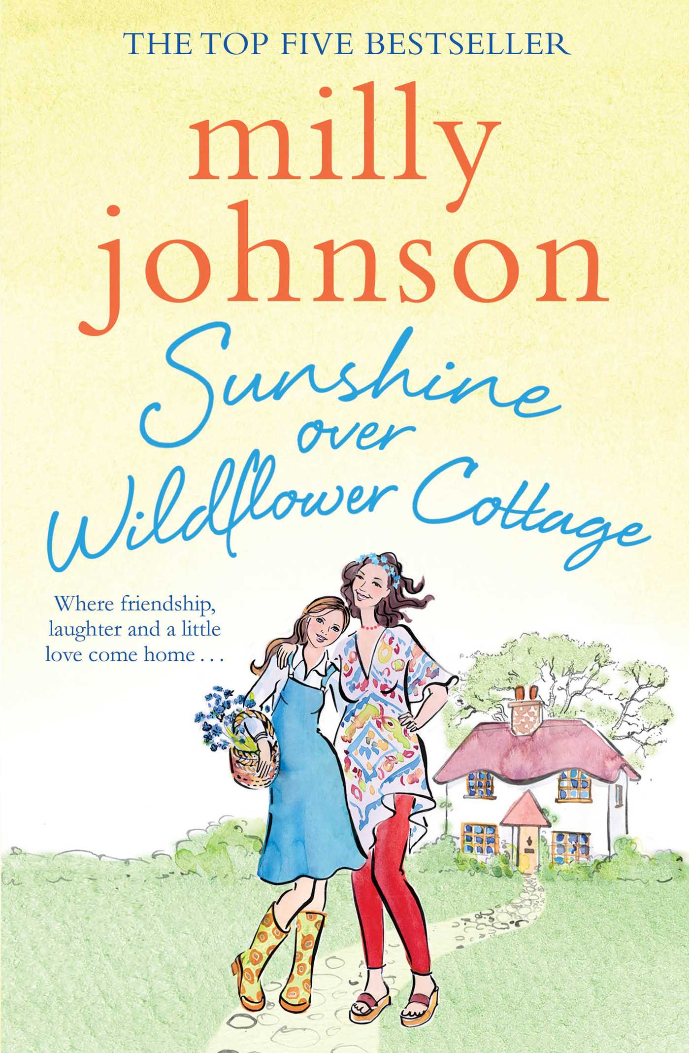 Sunshine over wildflower cottage 9781471140846 hr