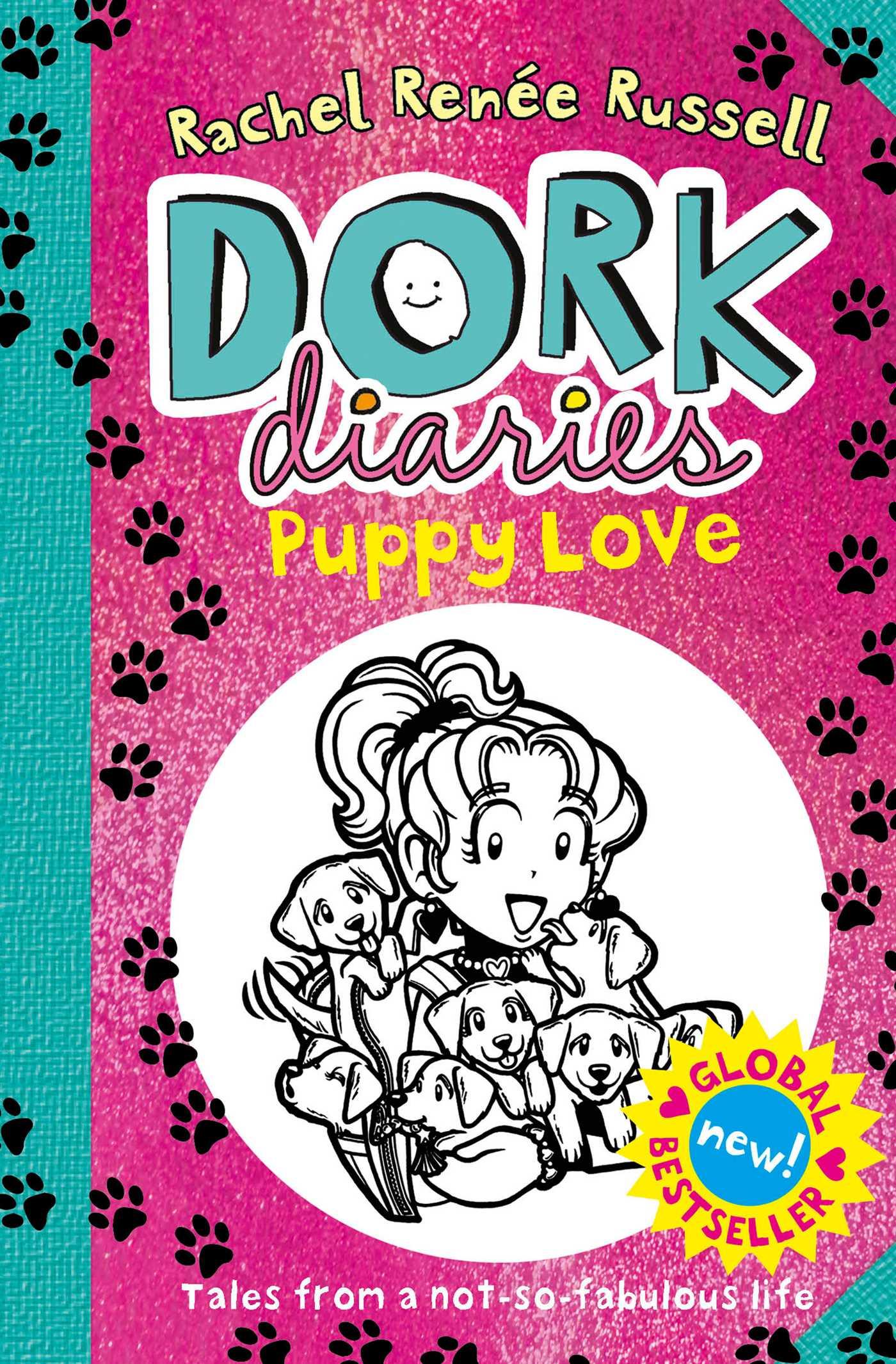 Book Cover Love ~ Dork diaries puppy love book by rachel renee russell