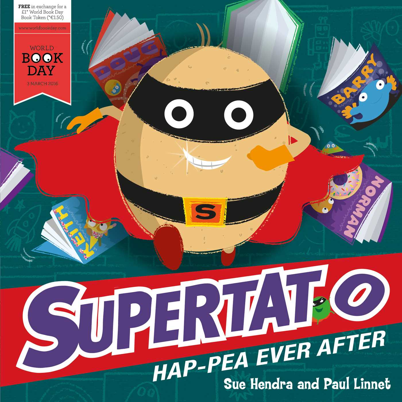 Book Cover Image (jpg): Supertato Happea Ever After
