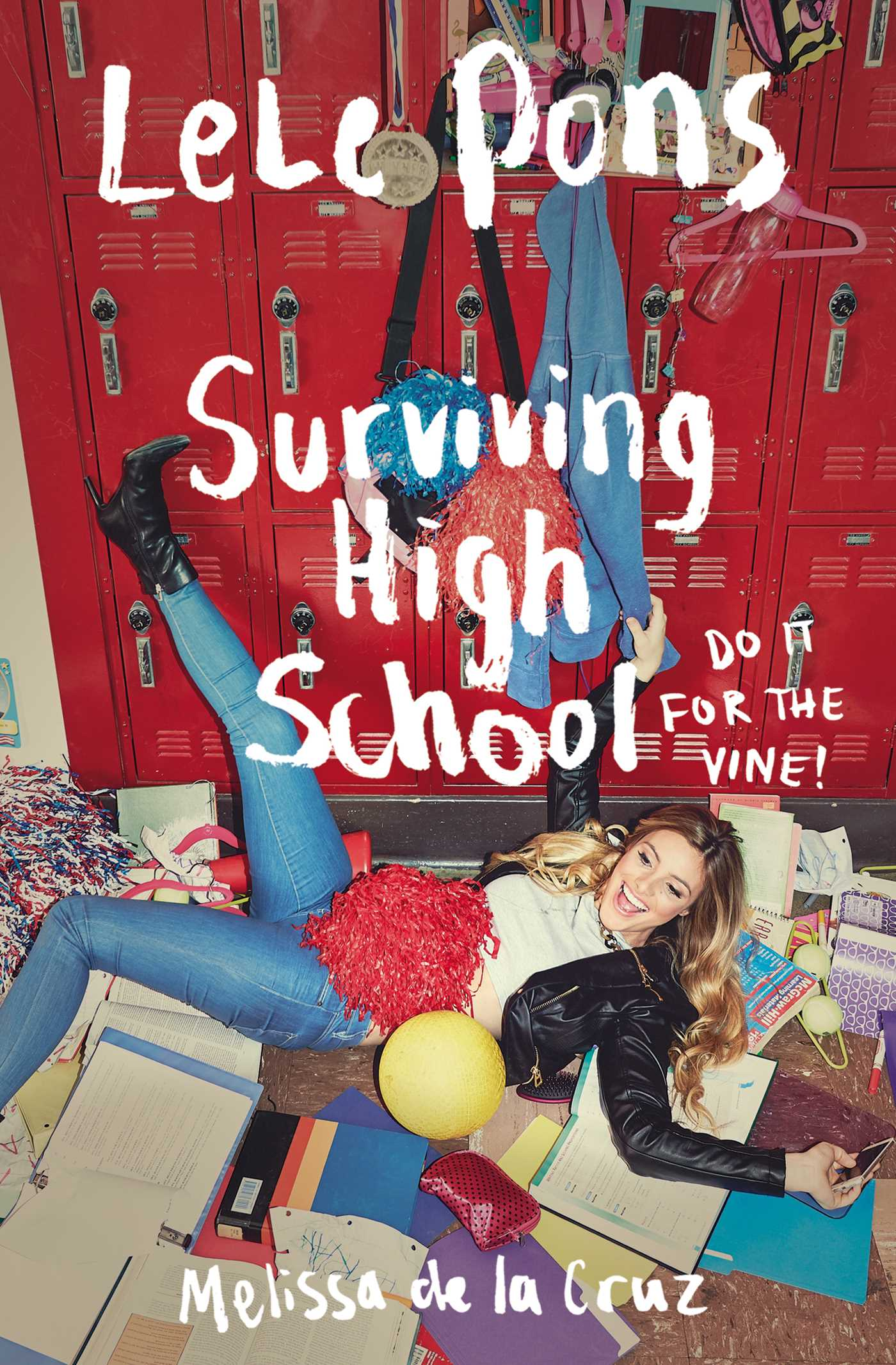 Book Cover School Uk : Surviving high school ebook by lele pons melissa de la