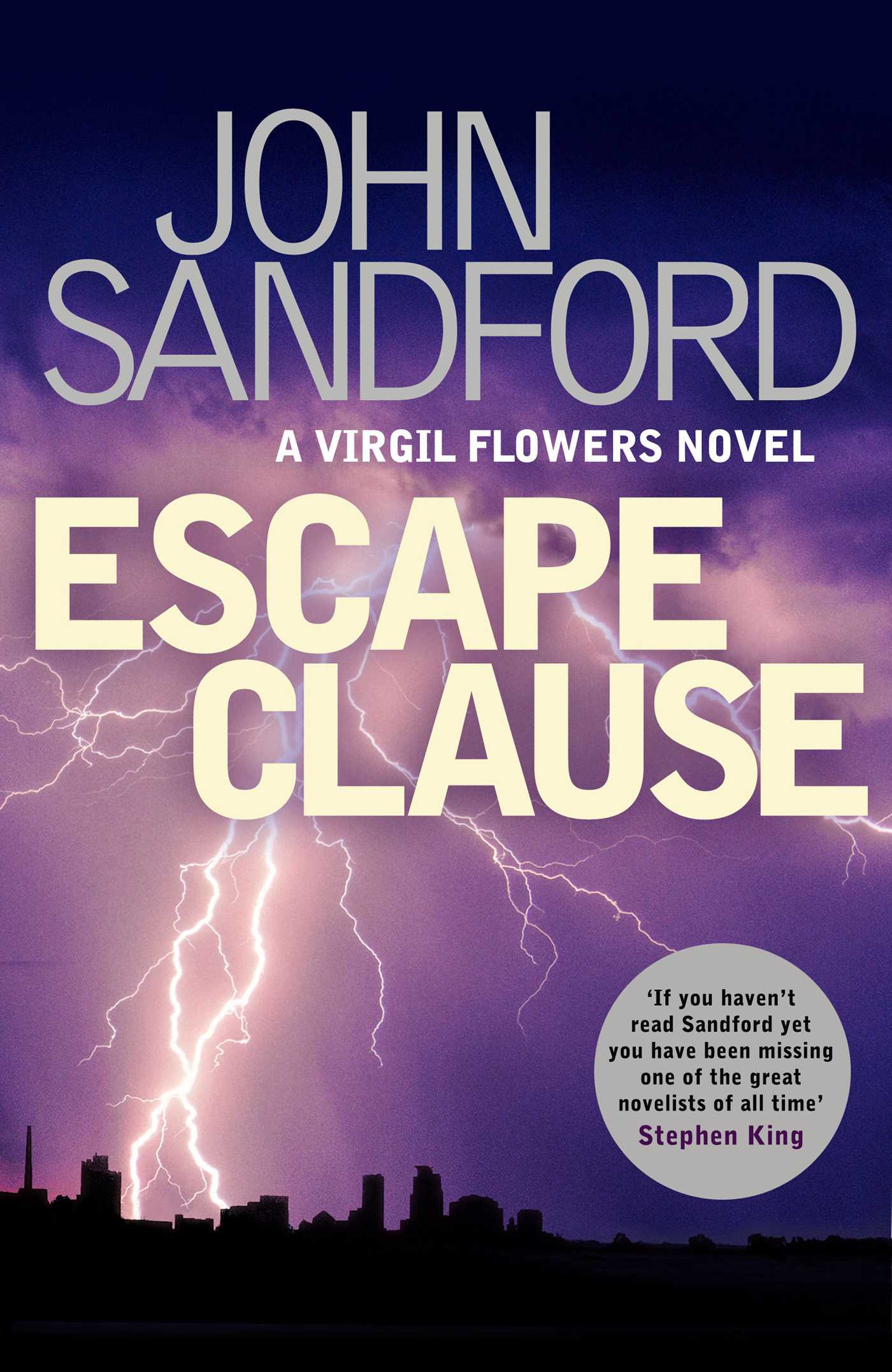 Escape Clause Book by John Sandford ficial Publisher Page