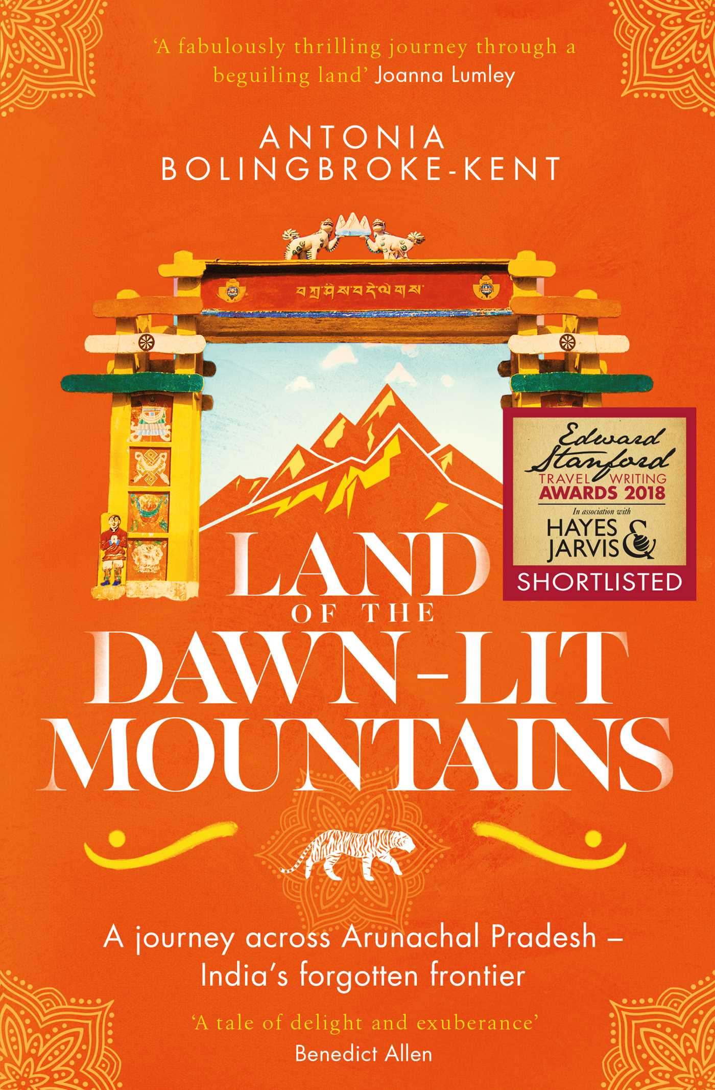 Land of the dawn lit mountains 9781471156571 hr