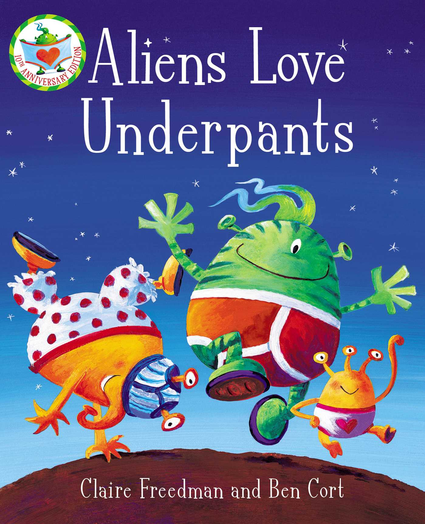 Aliens love underpants book by claire freedman ben cort book cover image jpg aliens love underpants fandeluxe Image collections