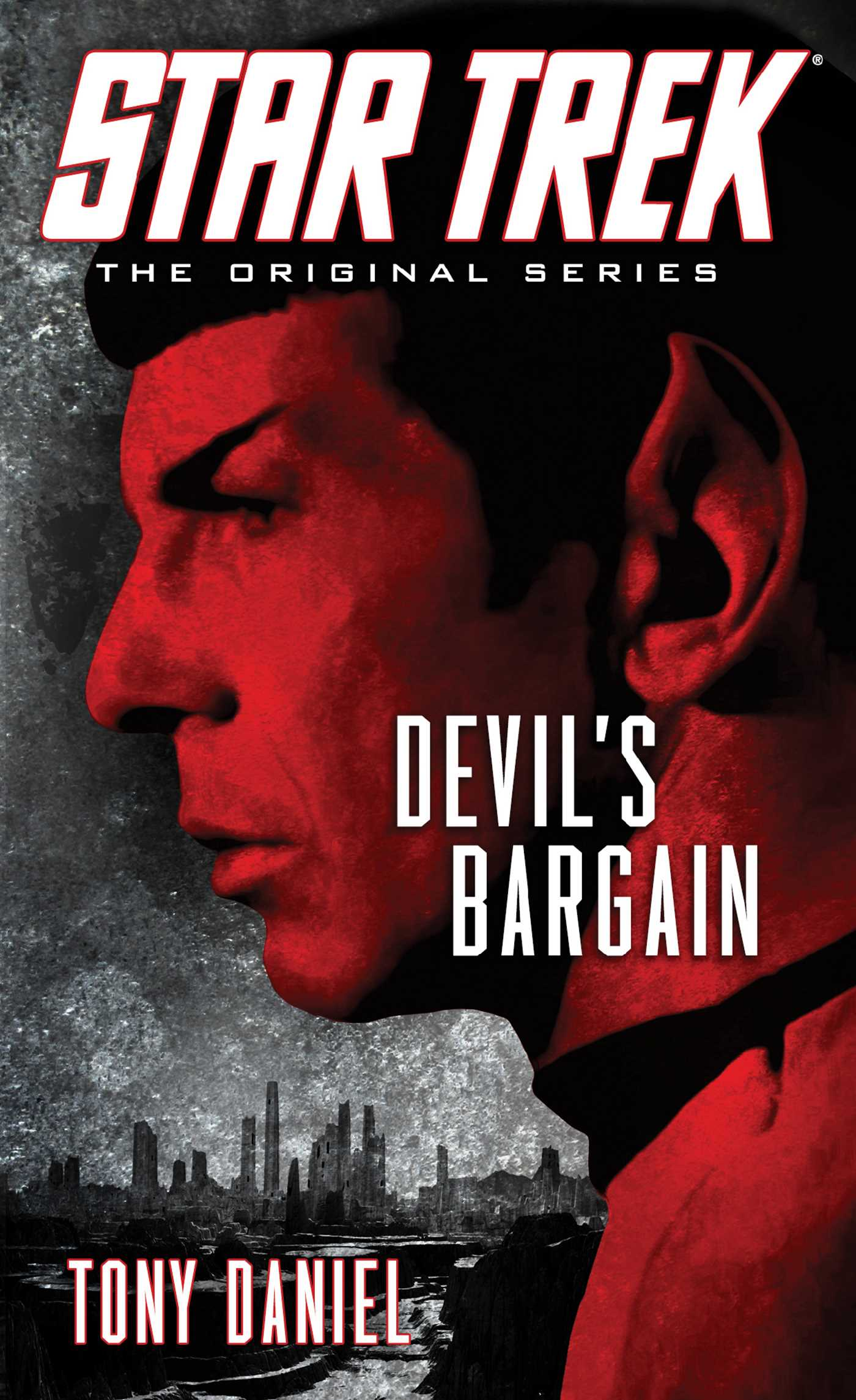 Star trek the original series devils bargain 9781476700496 hr