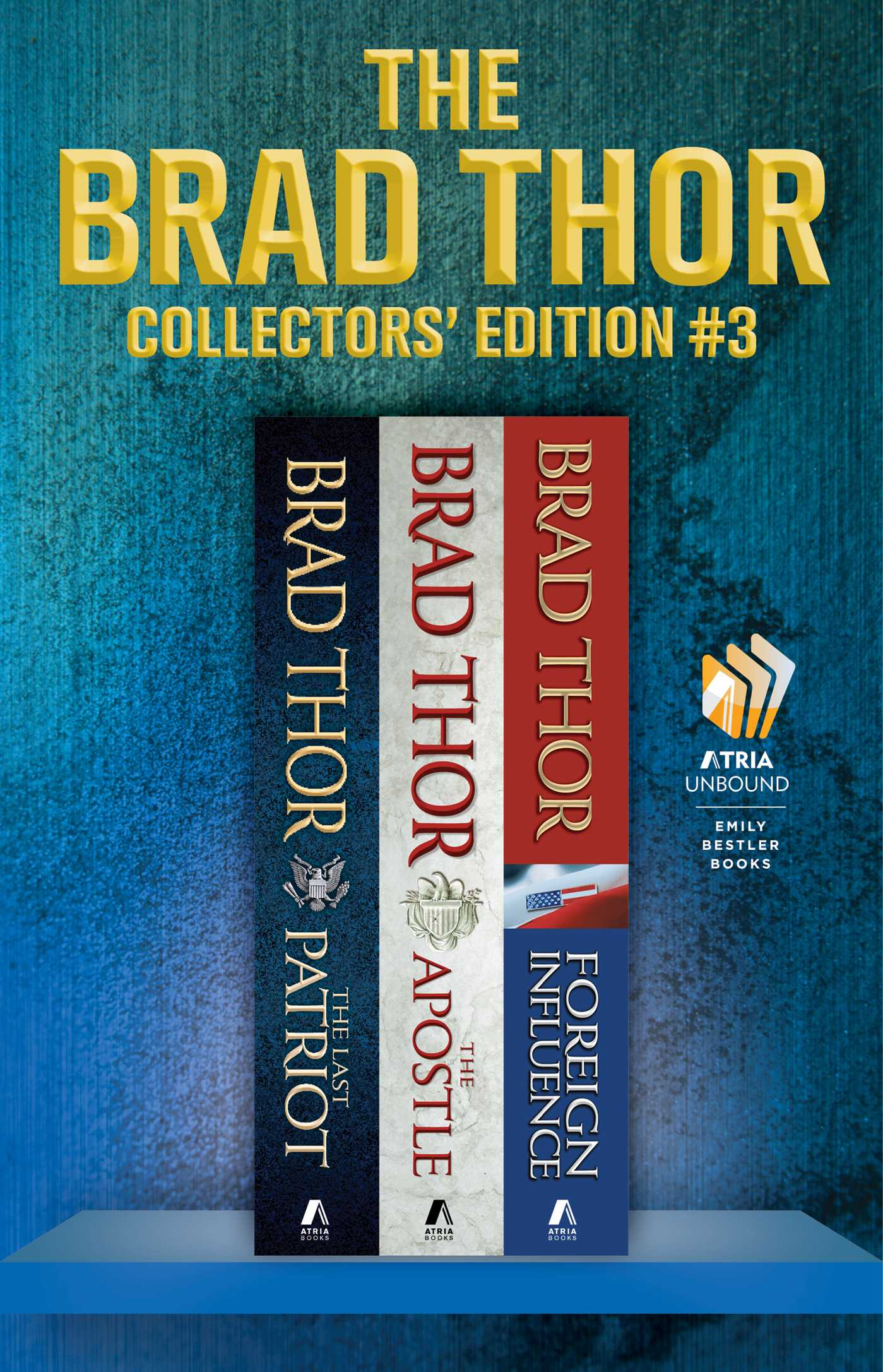 Brad thor collectors edition 3 9781476703824 hr