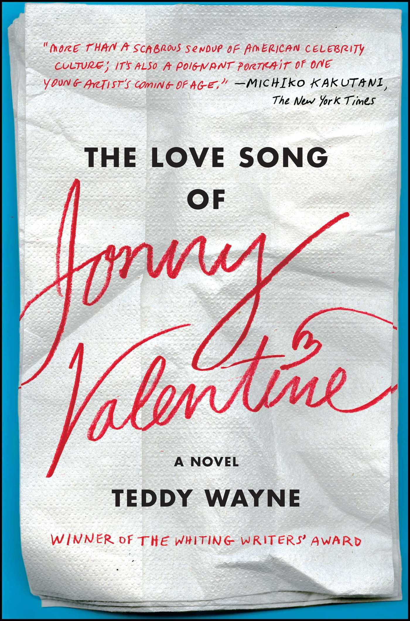 The love song of jonny valentine 9781476705866 hr