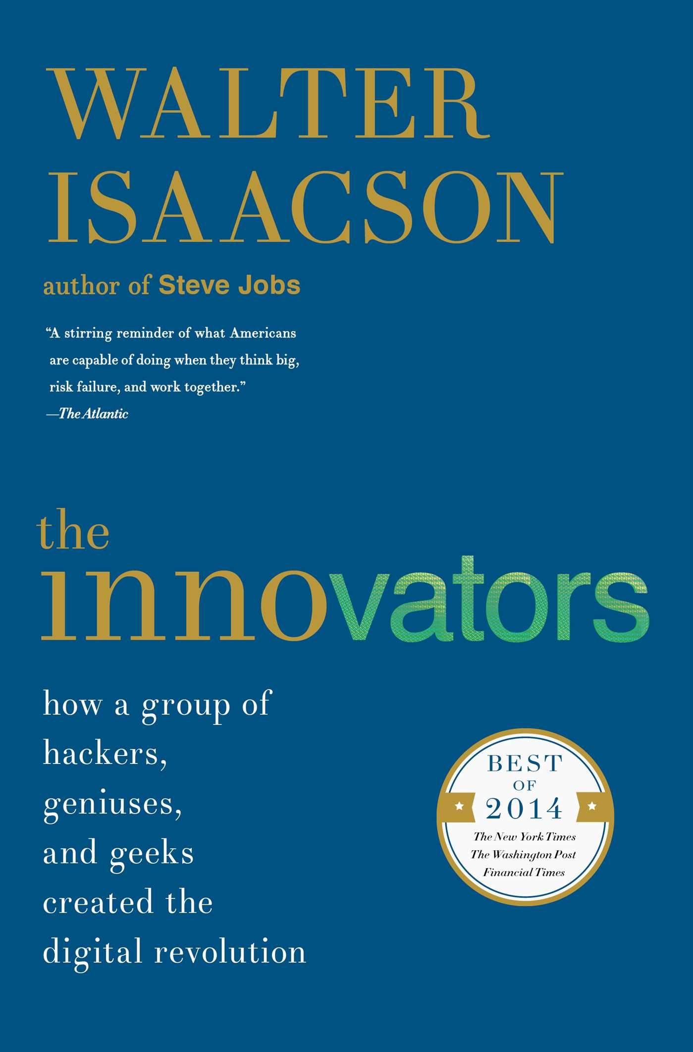 The innovators 9781476708706 hr