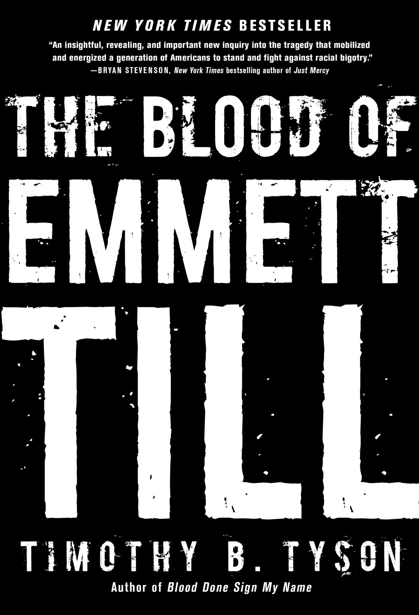 The blood of emmett till 9781476714844 hr