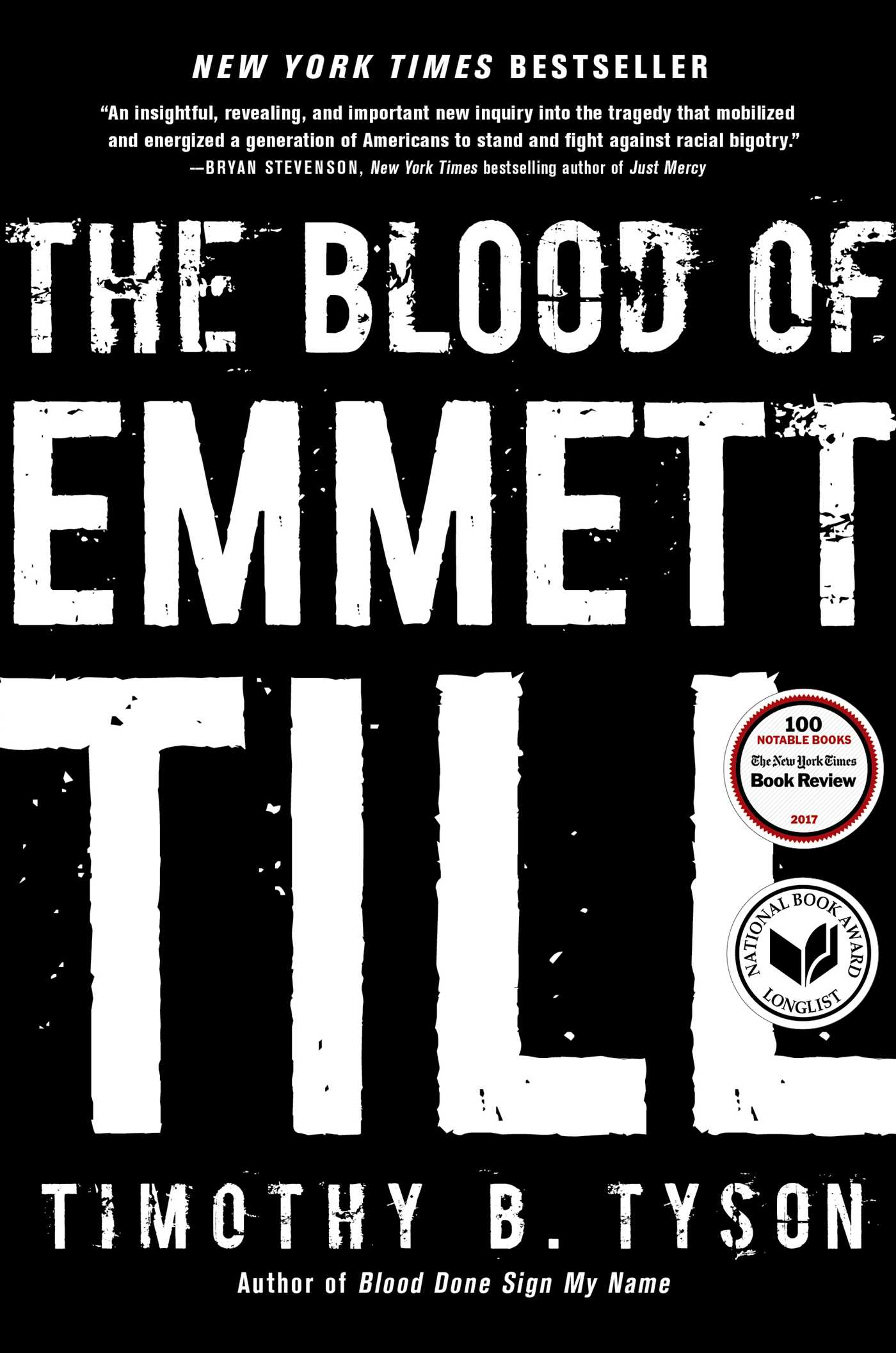 the blood of emmett till book by timothy b tyson official  the blood of emmett till 9781476714851 hr