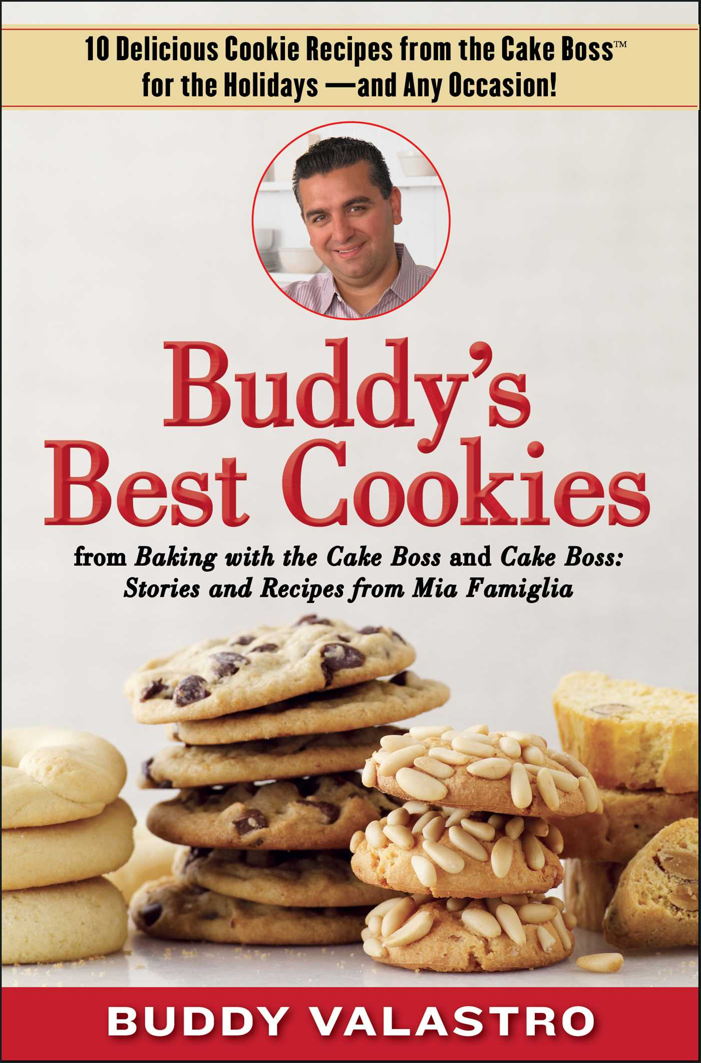 Buddys best cookies from baking with the cake boss and cake boss 9781476725482 hr