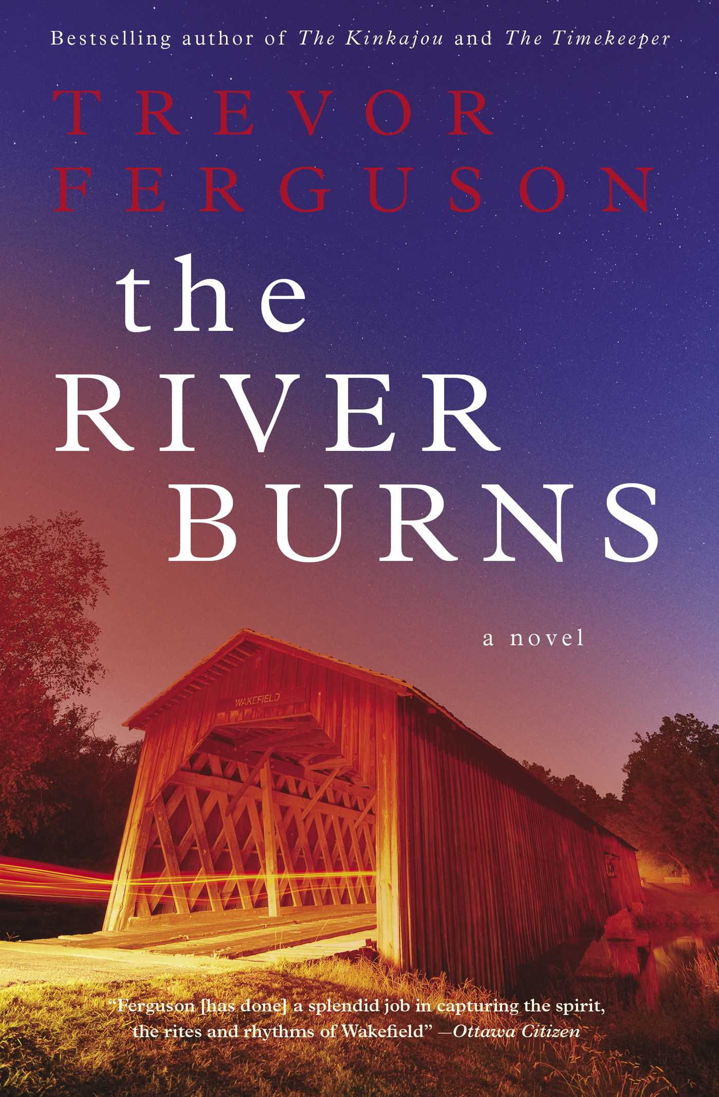 The river burns 9781476726380 hr