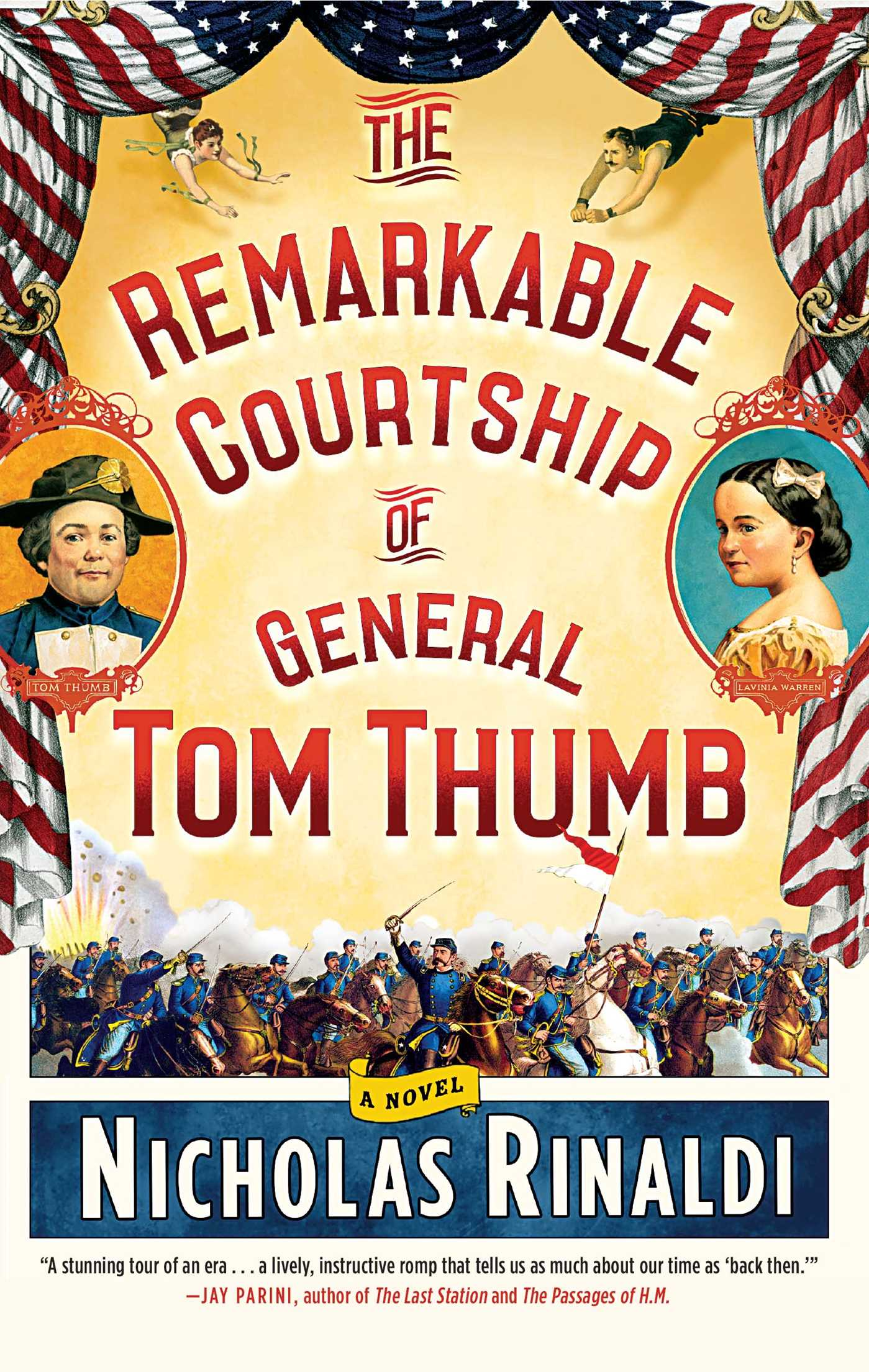 The remarkable courtship of general tom thumb 9781476727332 hr
