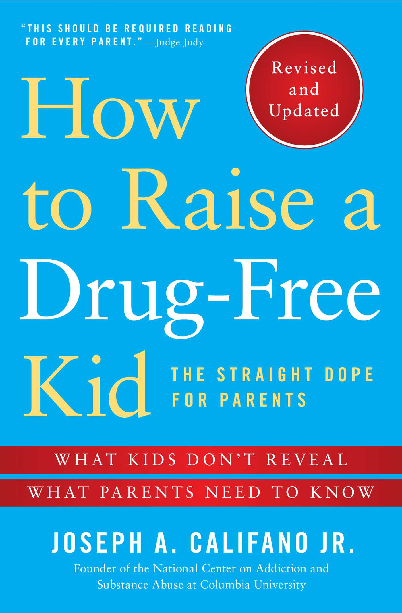 How to raise a drug free kid 9781476728490 hr