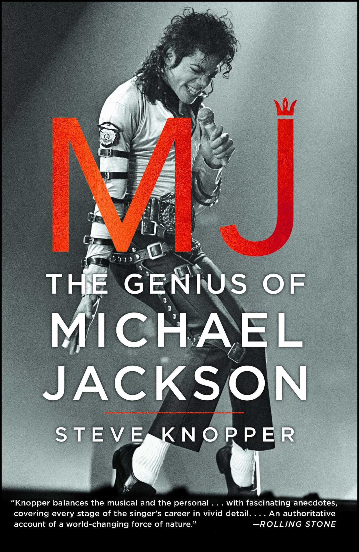 Mj the genius of michael jackson 9781476730387 hr