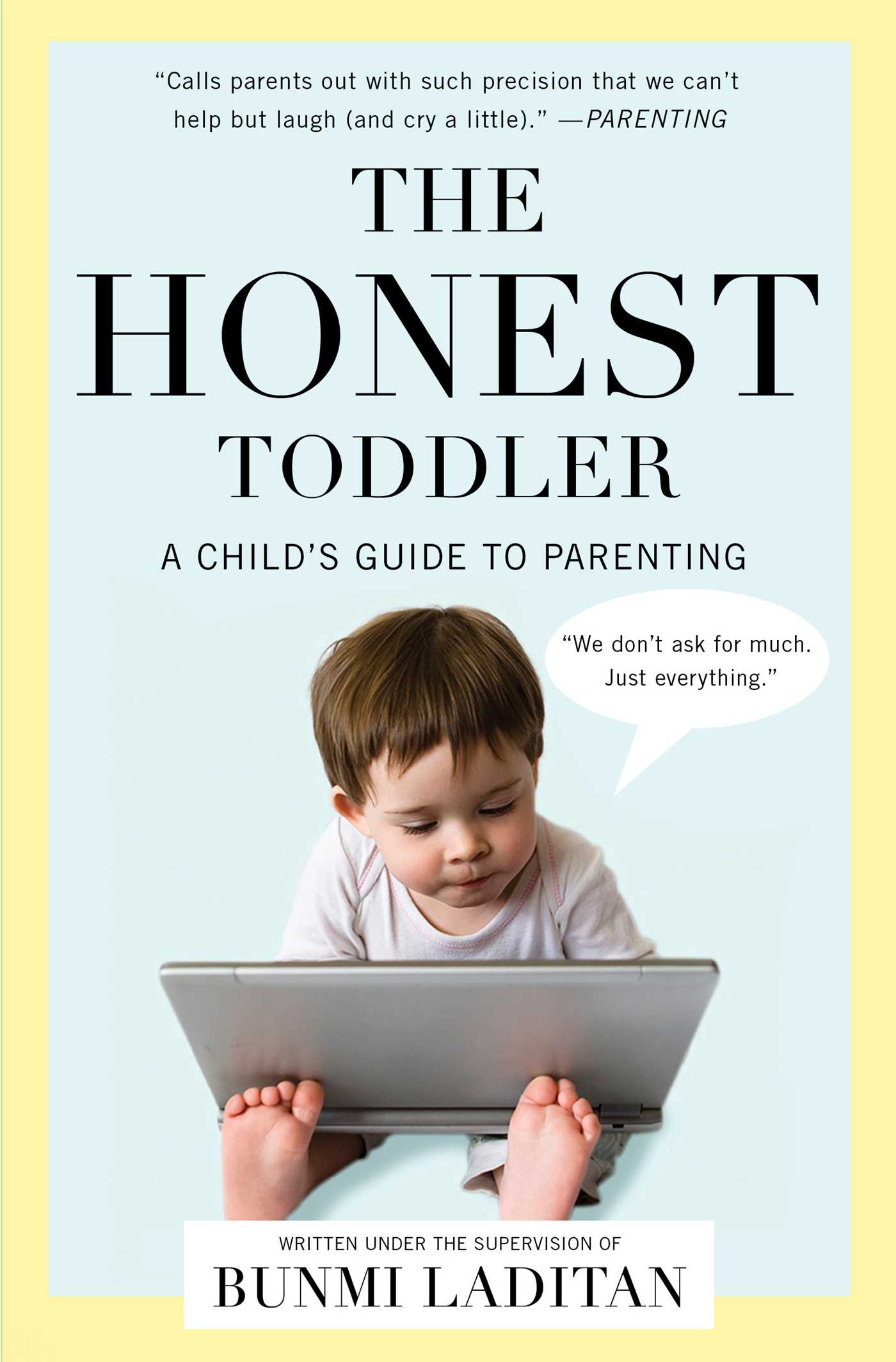 The honest toddler 9781476733722 hr