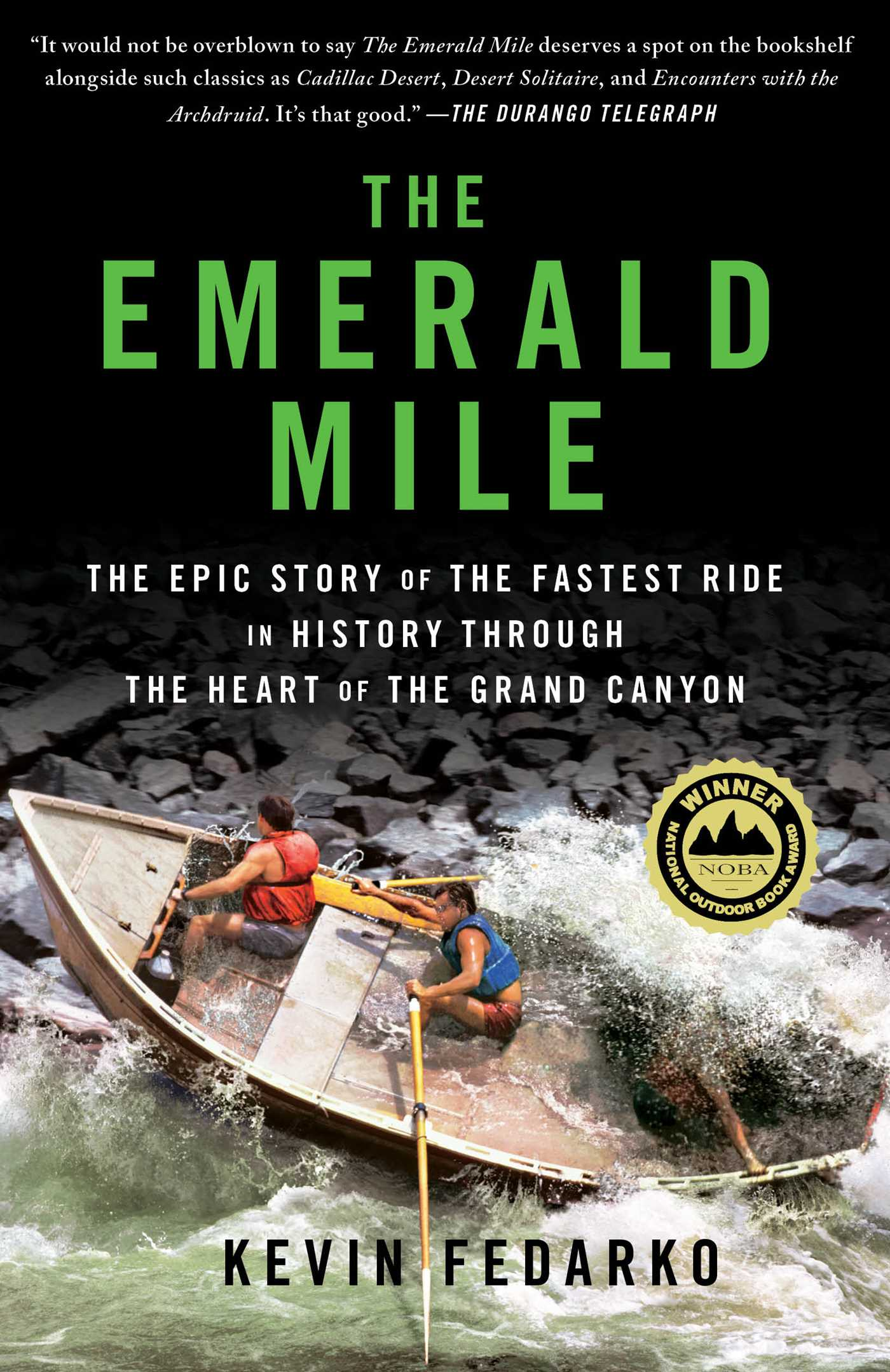 The emerald mile 9781476735290 hr