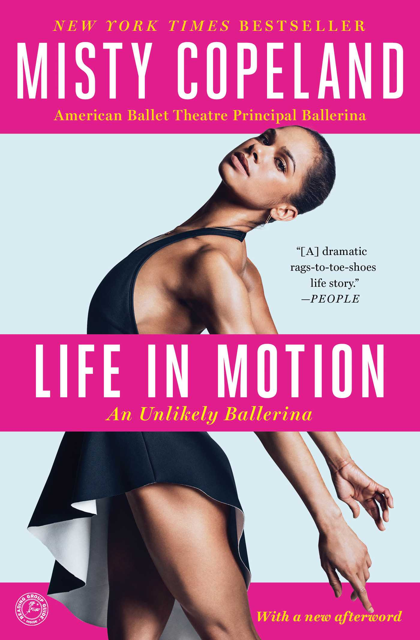 life in motion book by misty copeland official publisher page