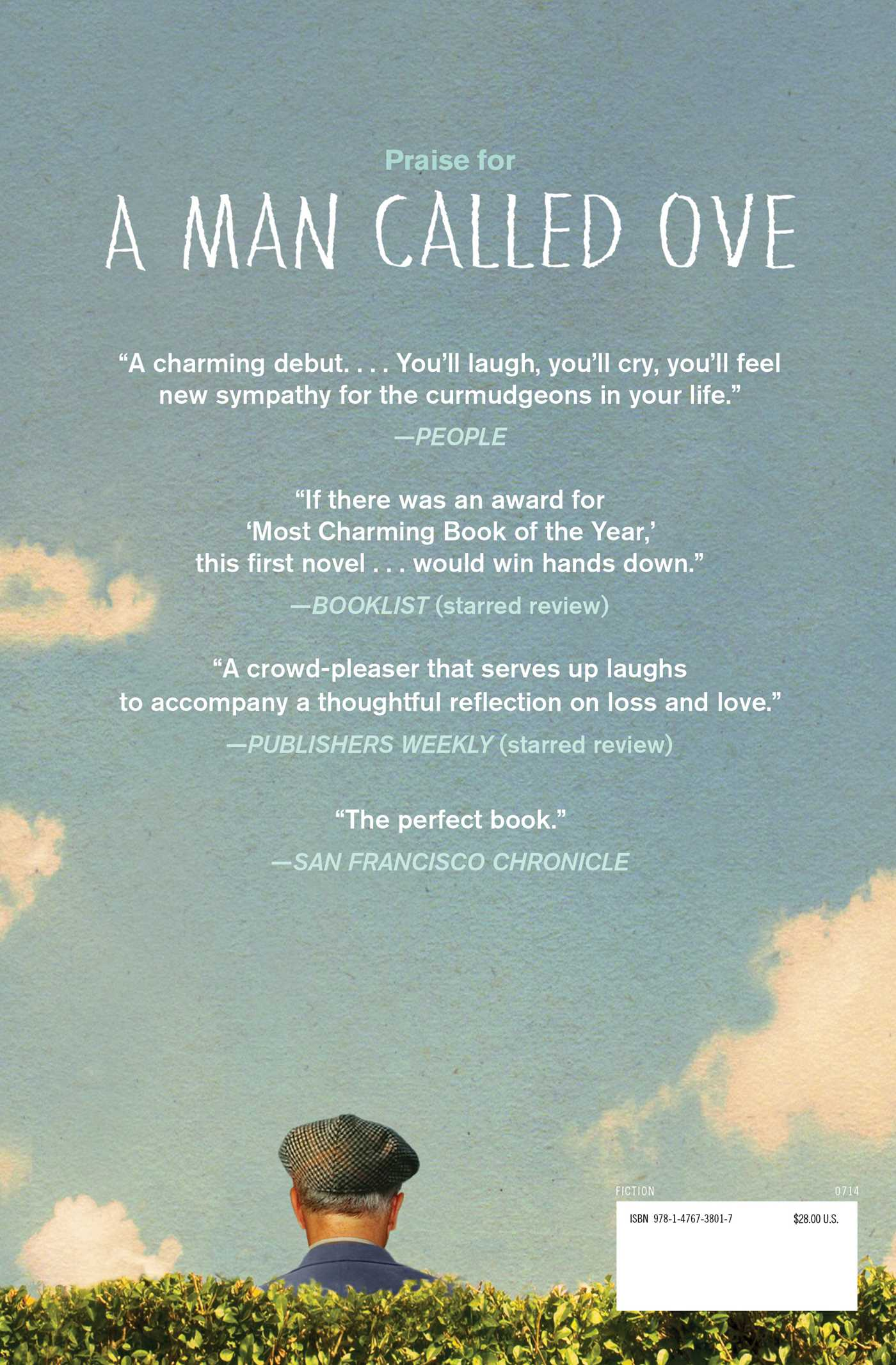 A man called ove 9781476738017 hr back