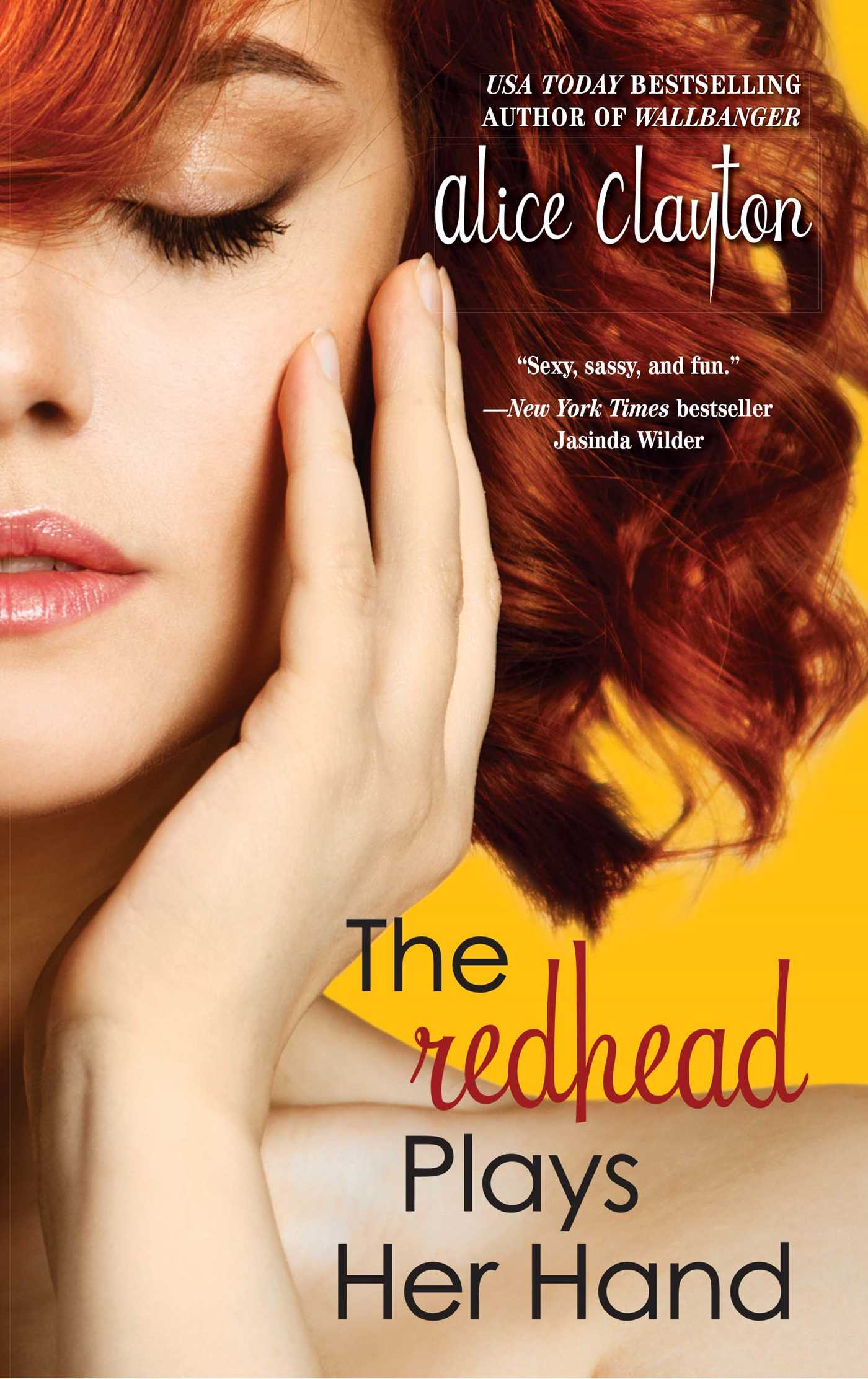The redhead plays her hand 9781476741314 hr