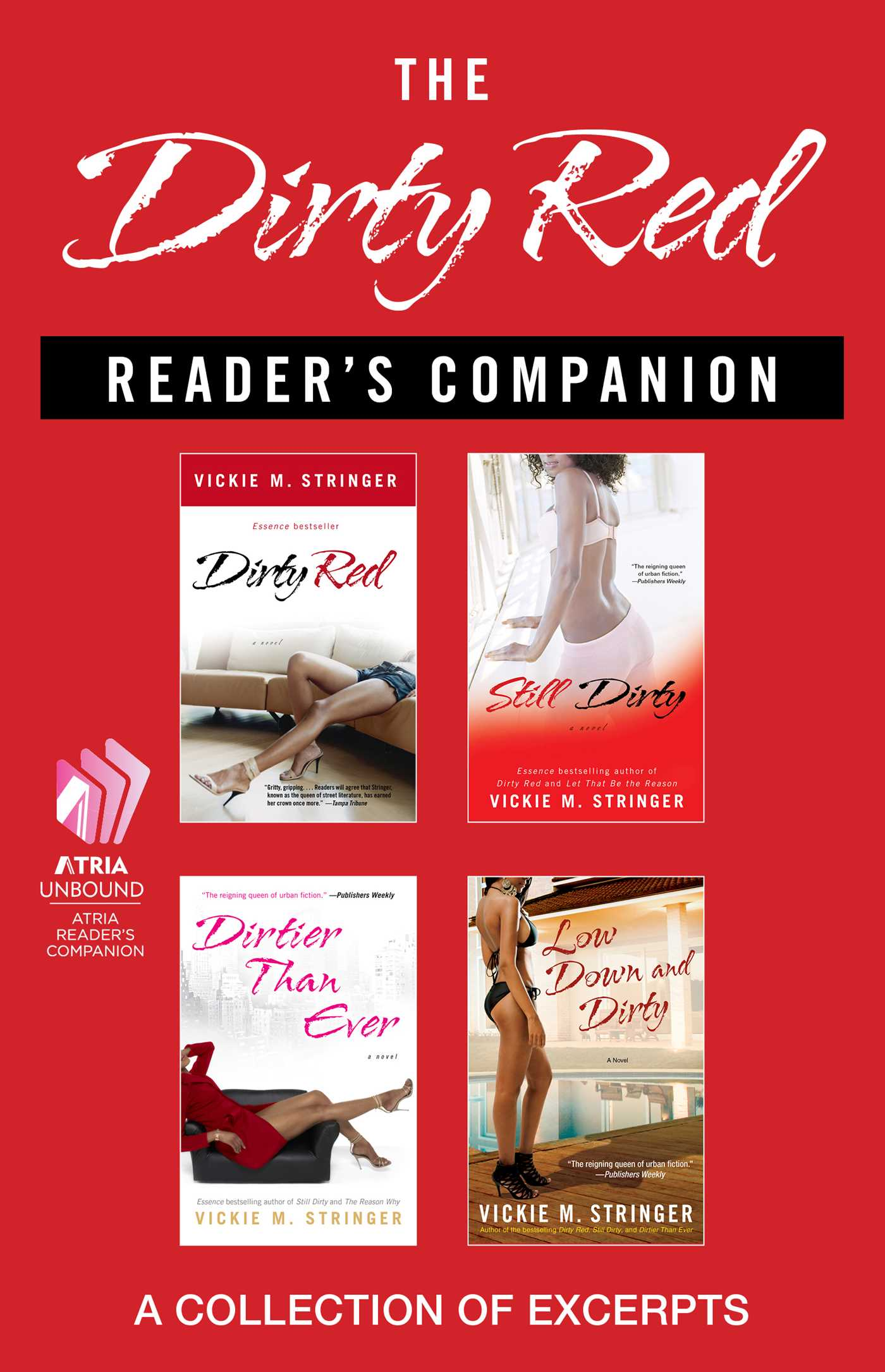 The dirty red readers companion 9781476743592 hr