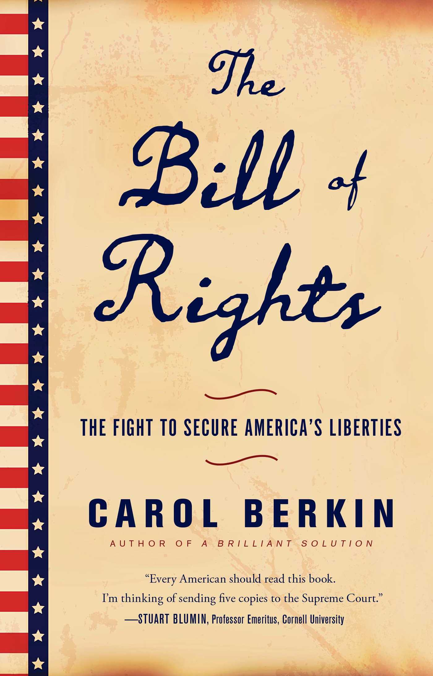 The Bill of Rights   Book by Carol Berkin   Official Publisher ...
